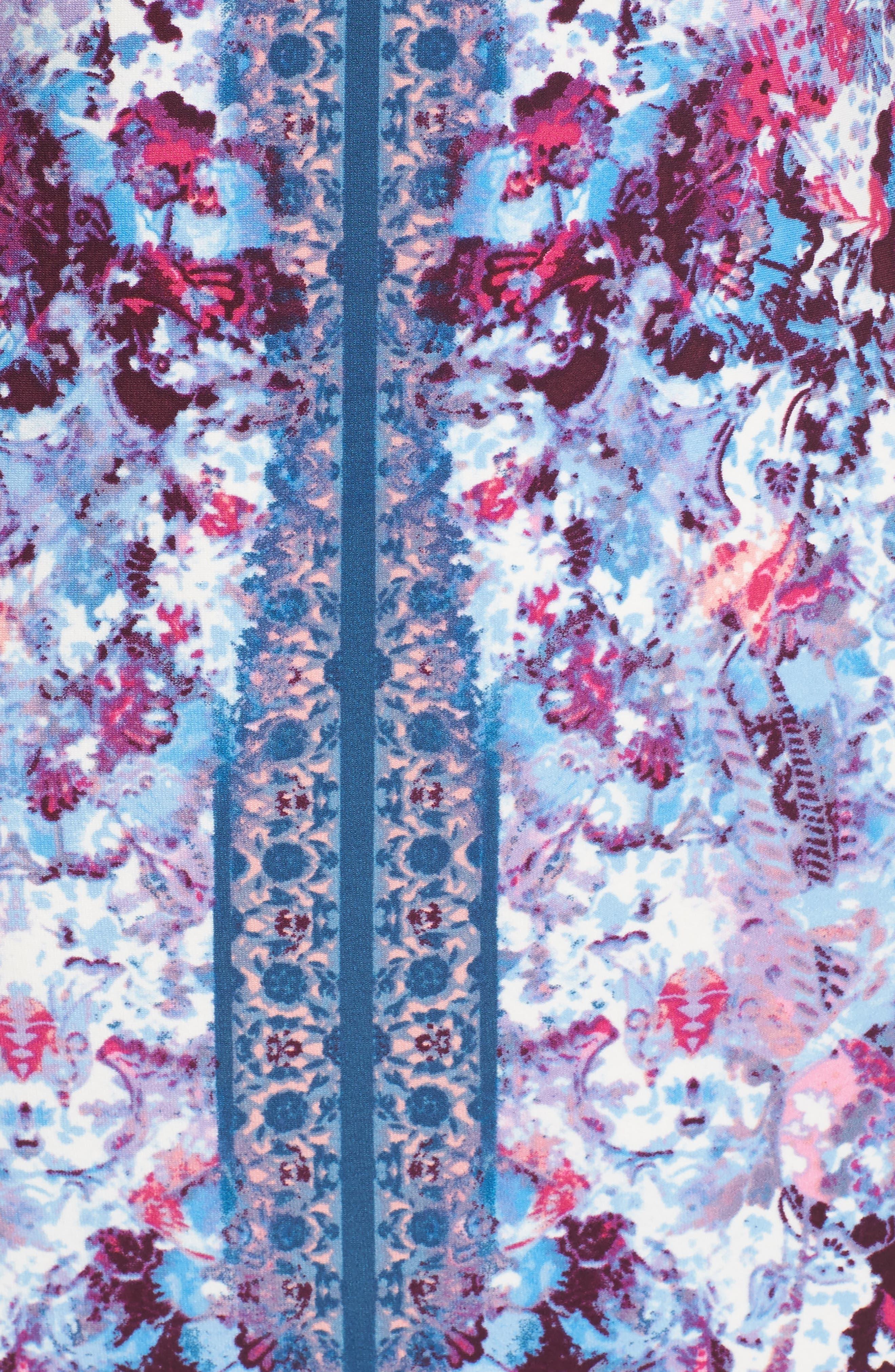 Midi Sheath Dress,                             Alternate thumbnail 5, color,                             595