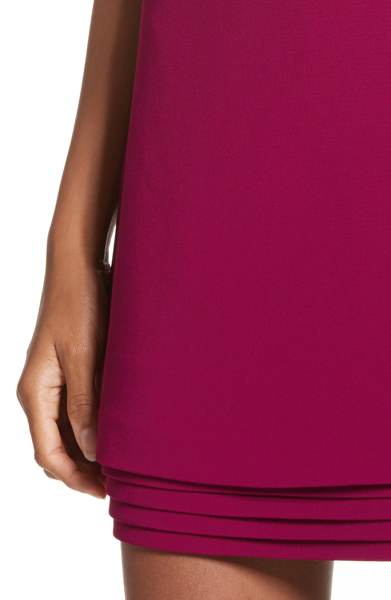 Layered Hem Shift Dress,                             Alternate thumbnail 4, color,                             650
