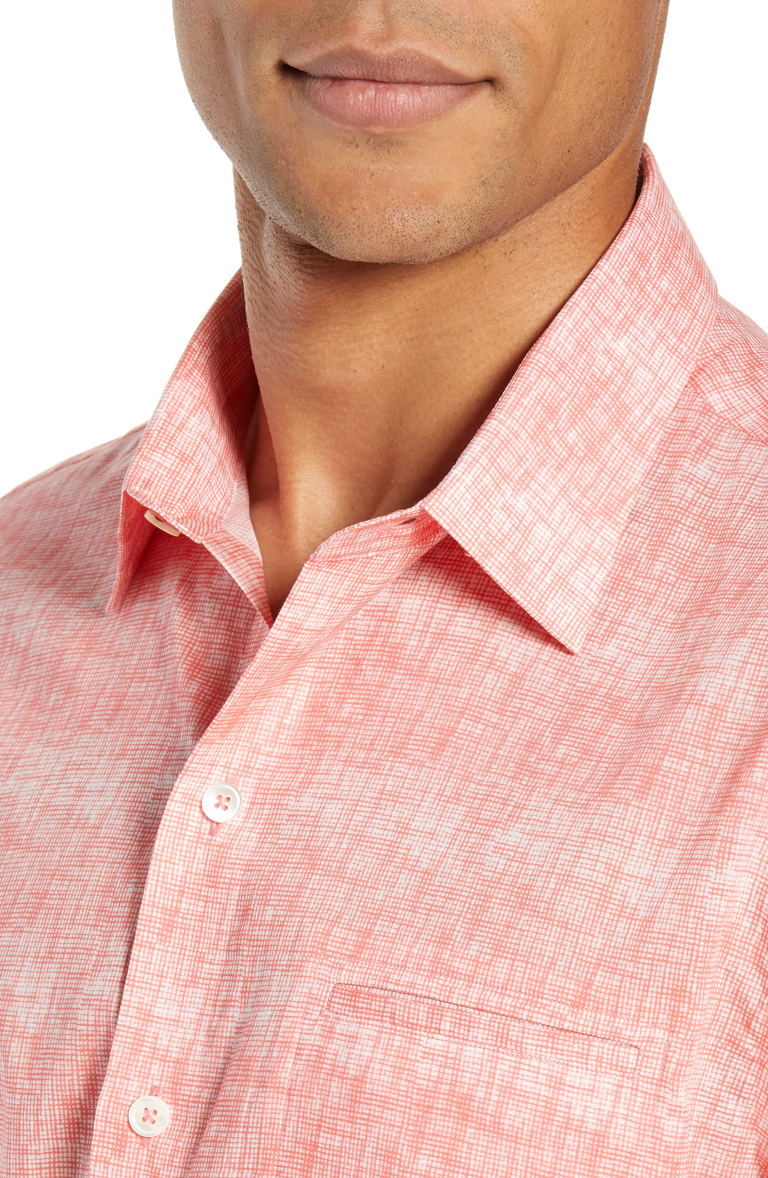 Griffin Regular Fit Sport Shirt,                             Alternate thumbnail 2, color,                             PINK