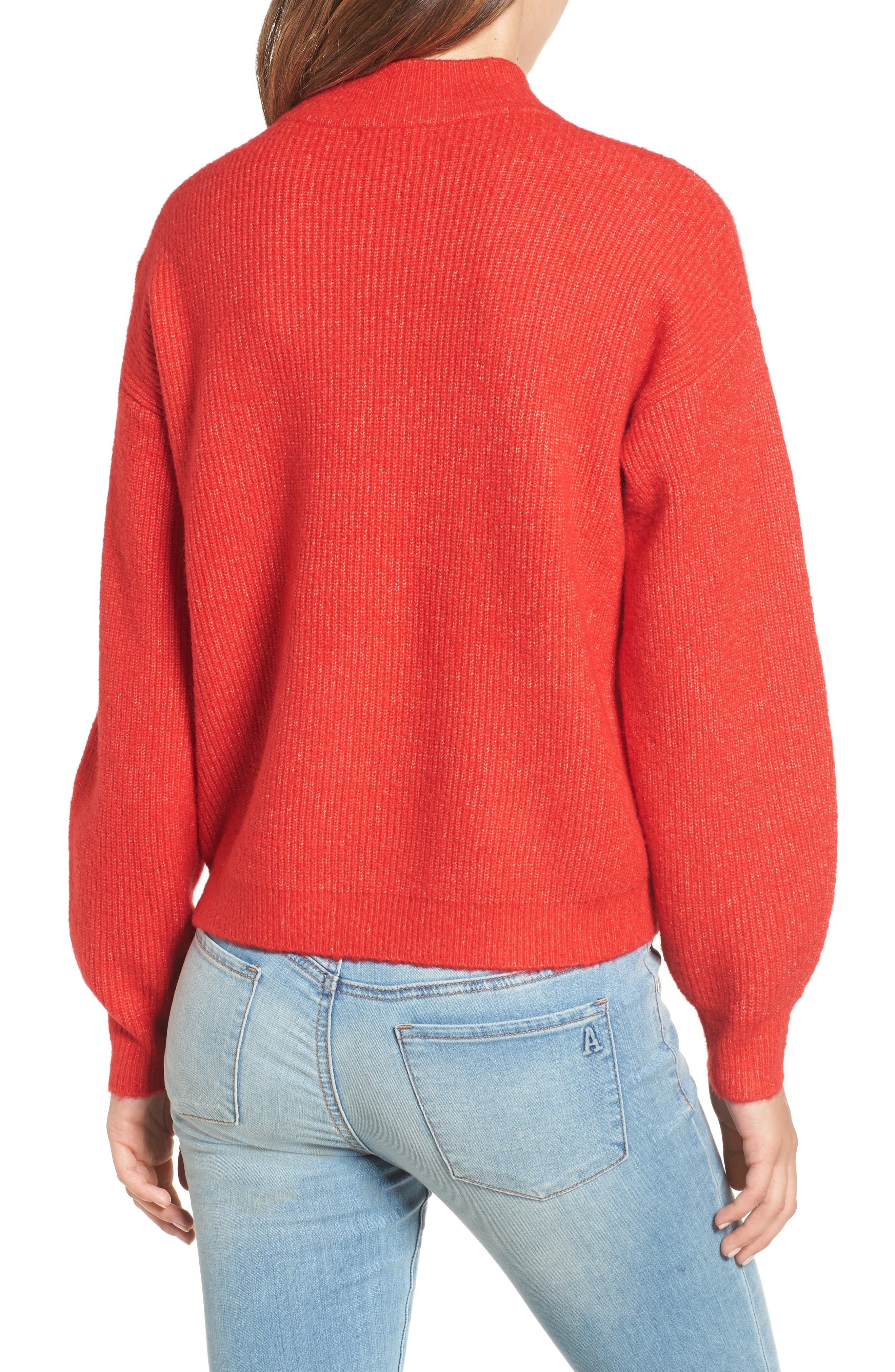 Cozy Ribbed Pullover,                             Alternate thumbnail 16, color,