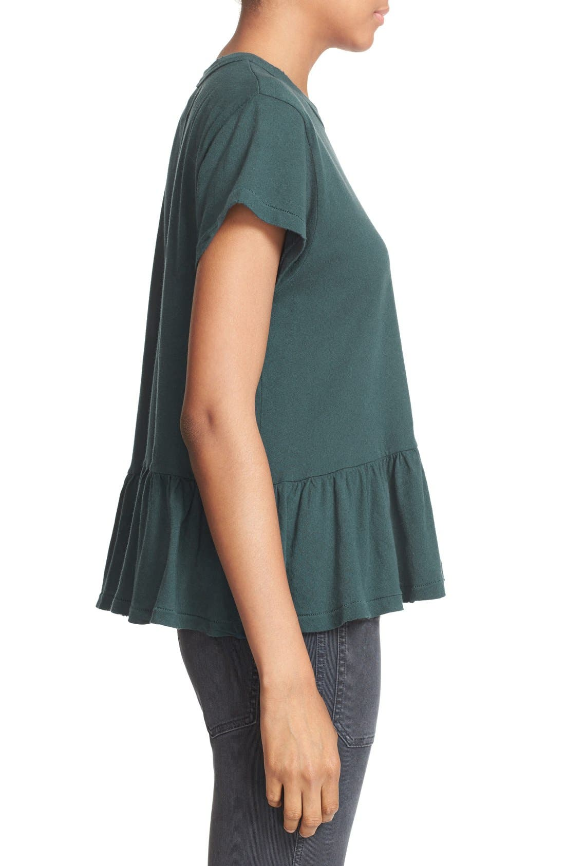 The Ruffle Tee,                             Alternate thumbnail 59, color,