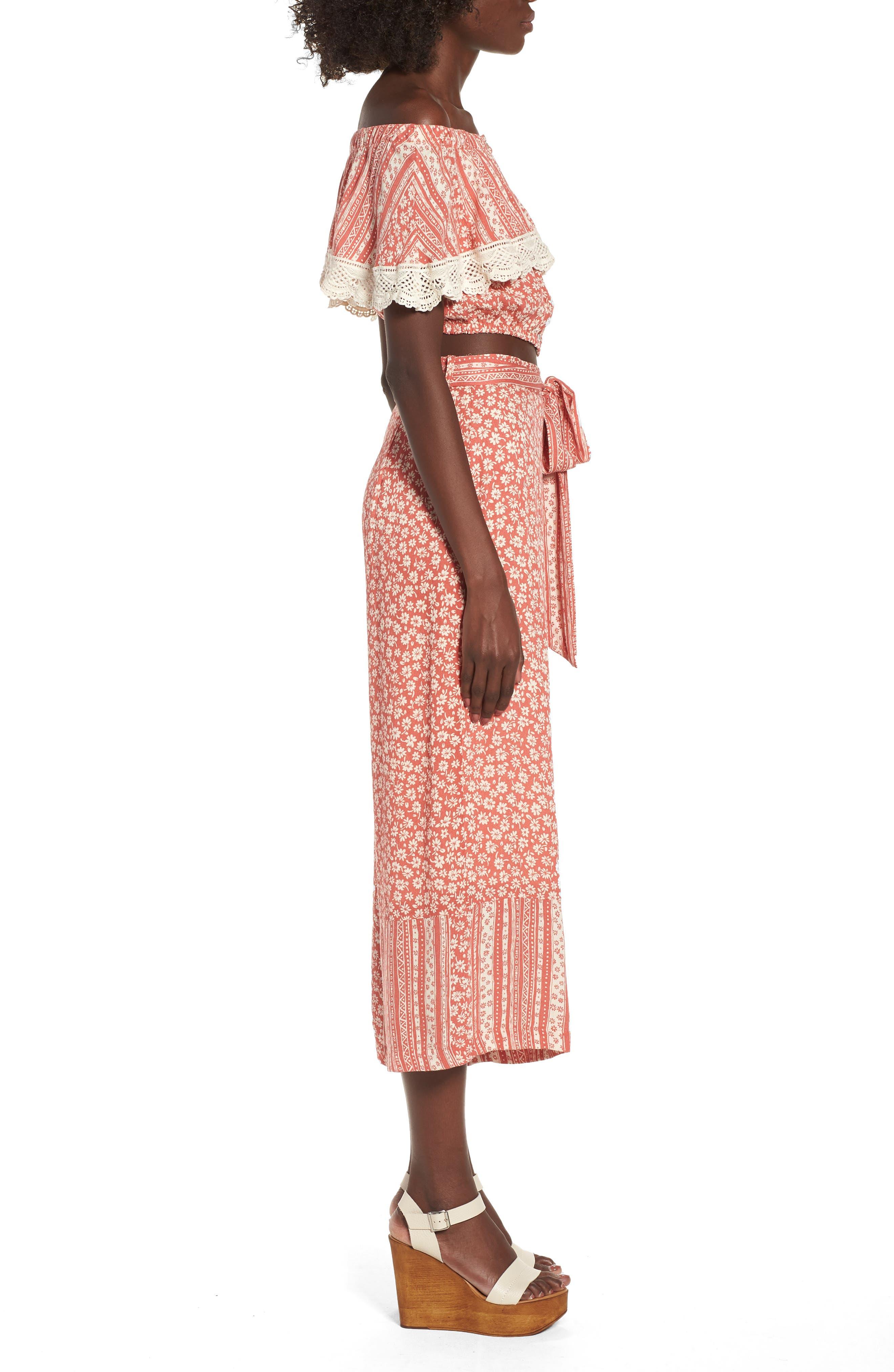 Sun's Out Tie Waist Culottes,                             Alternate thumbnail 10, color,                             952