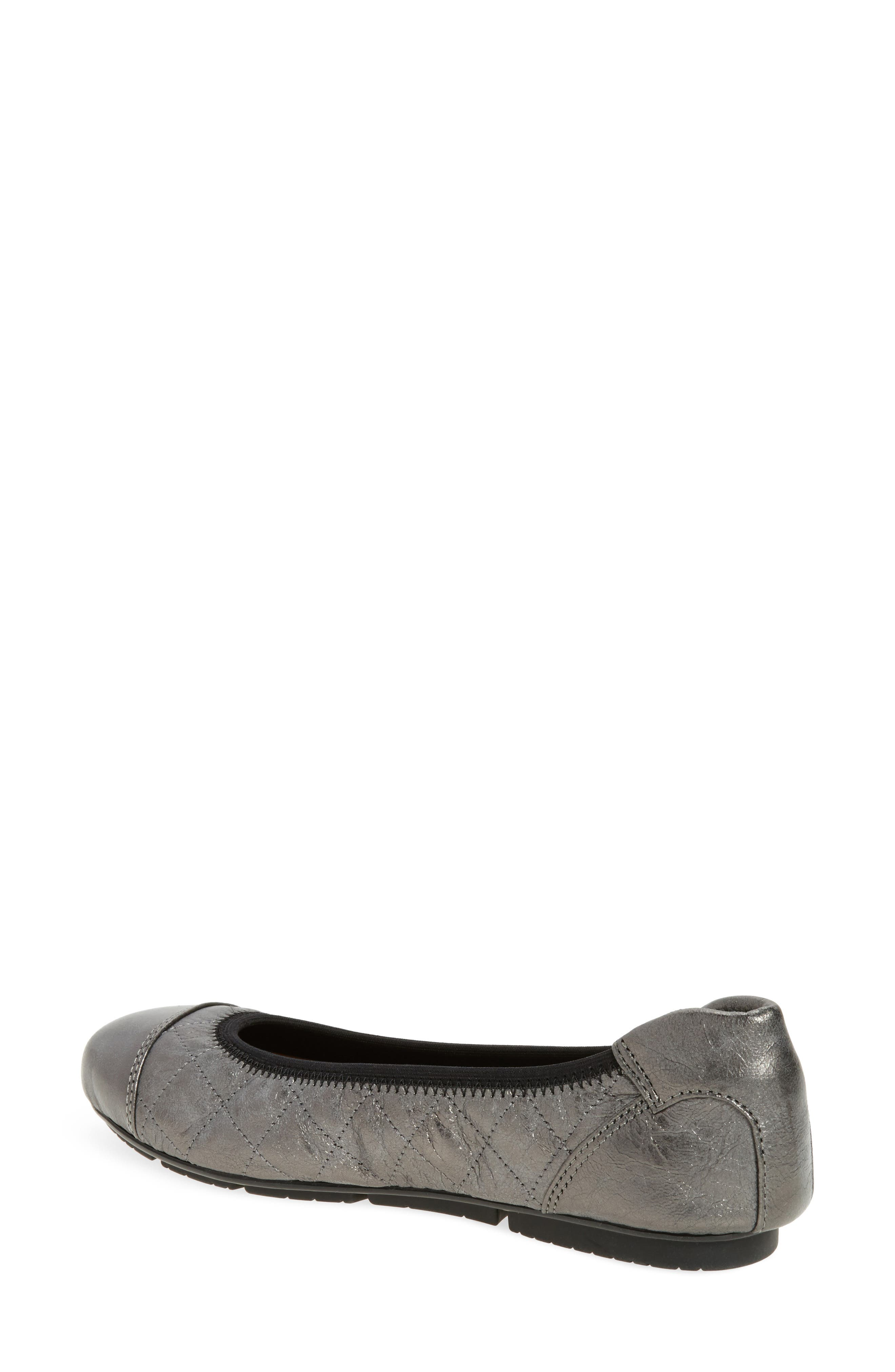 Ava Quilted Ballet Flat,                             Alternate thumbnail 5, color,