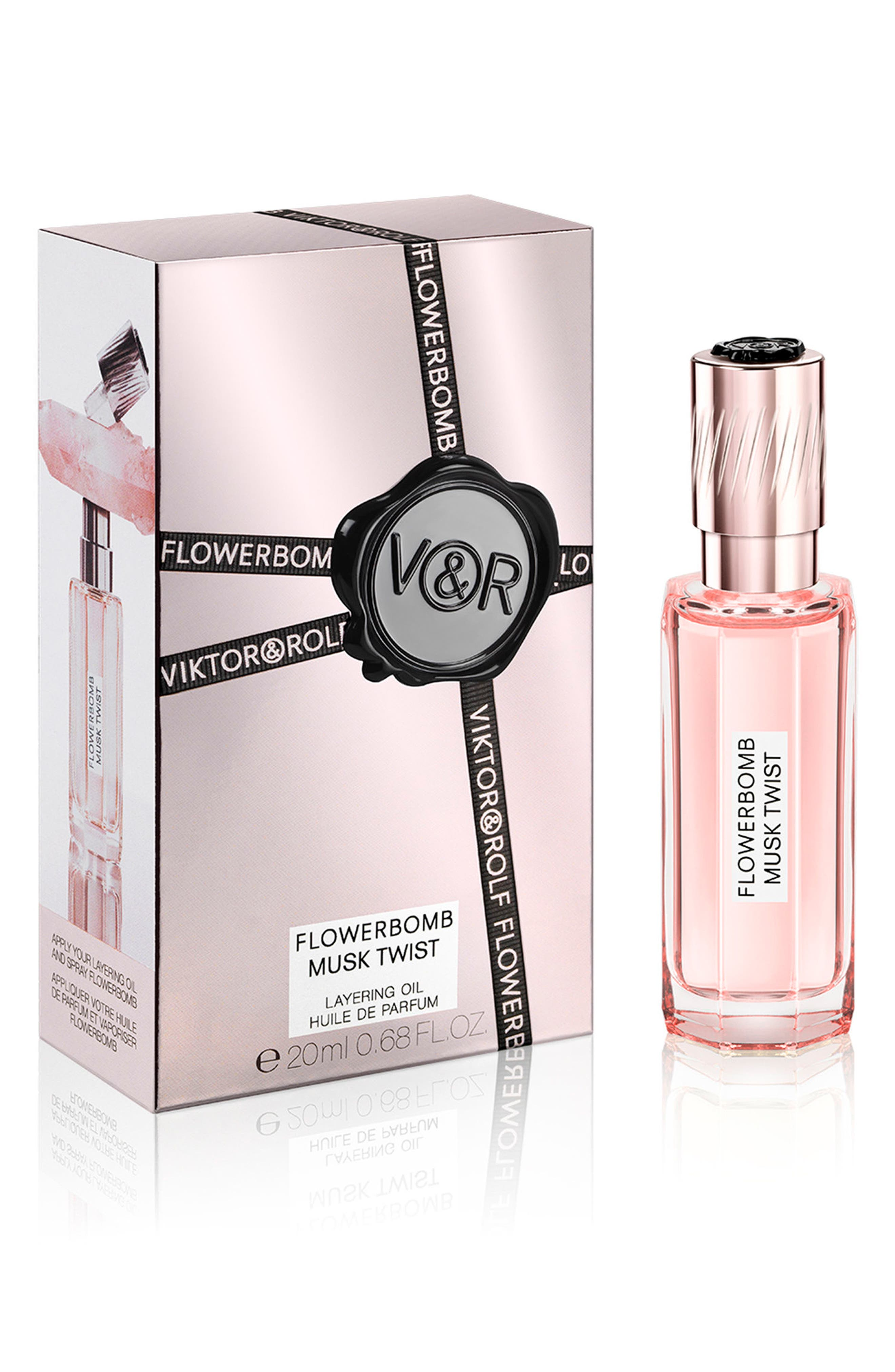 Flowerbomb Musk Twist Layering Oil,                             Main thumbnail 1, color,                             NO COLOR