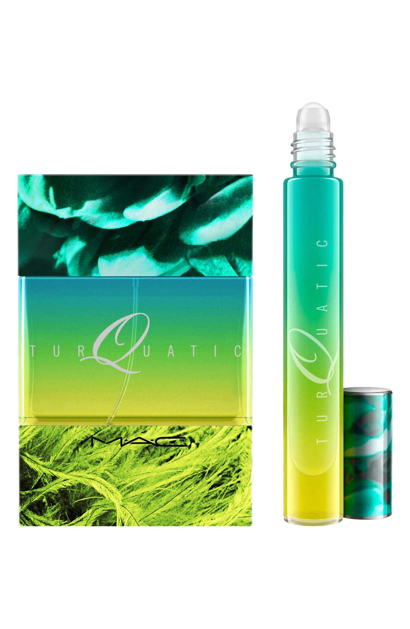 MAC Turquatic Fragrance Set,                             Alternate thumbnail 3, color,                             000