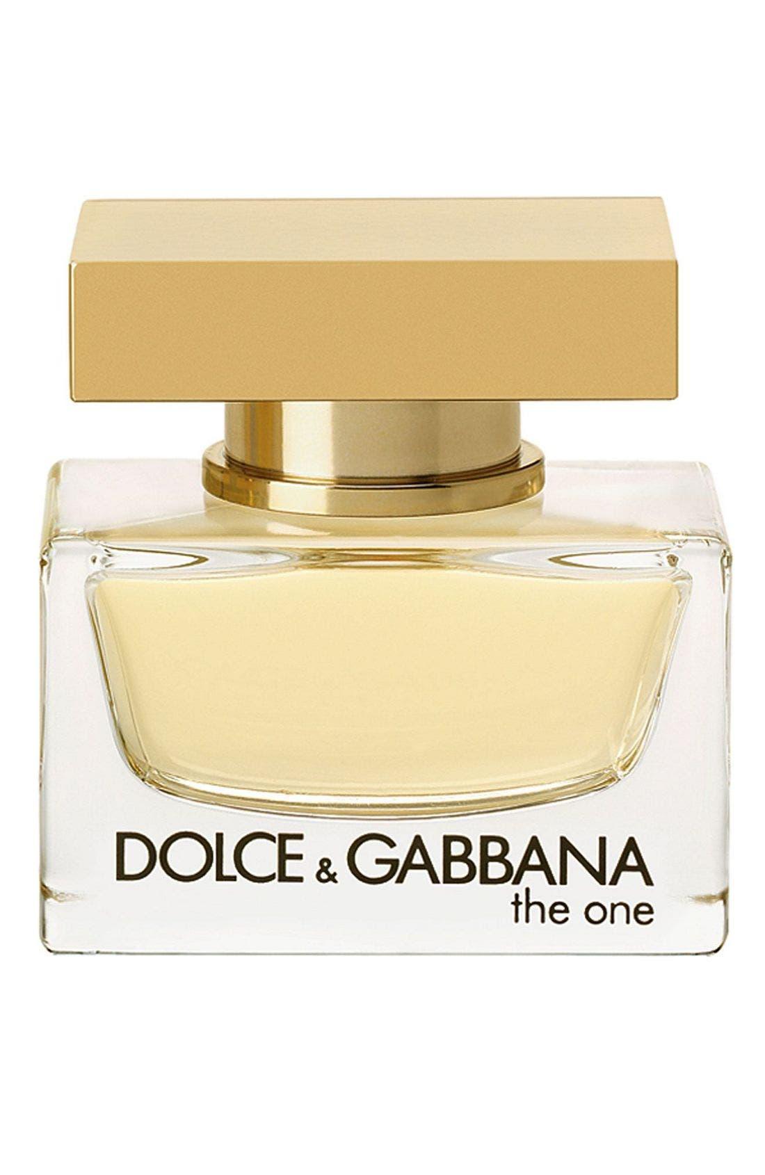 'The One' Eau de Parfum,                             Main thumbnail 1, color,                             NO COLOR