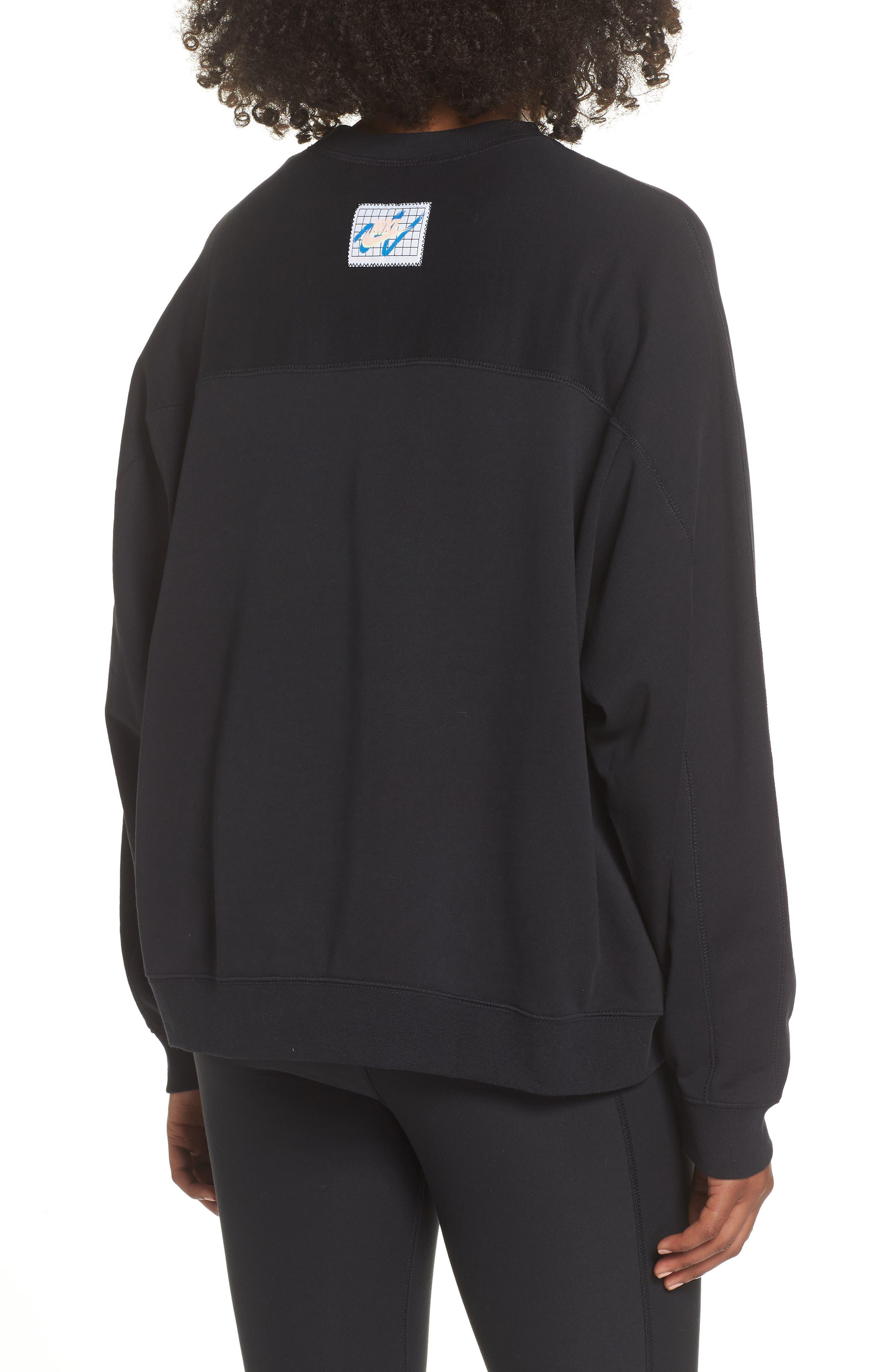 Archive Sweatshirt,                             Alternate thumbnail 2, color,                             BLACK/ BLACK/ BLACK