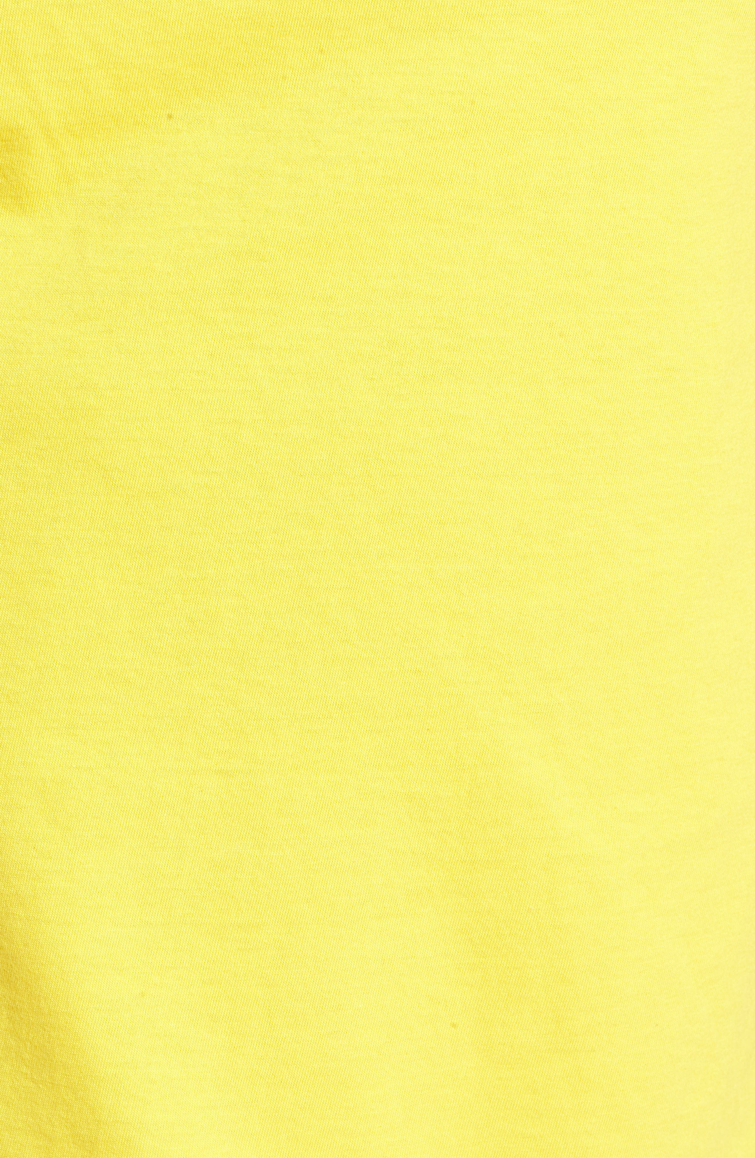 Primo Island T-Shirt,                             Alternate thumbnail 5, color,                             CYBER YELLOW