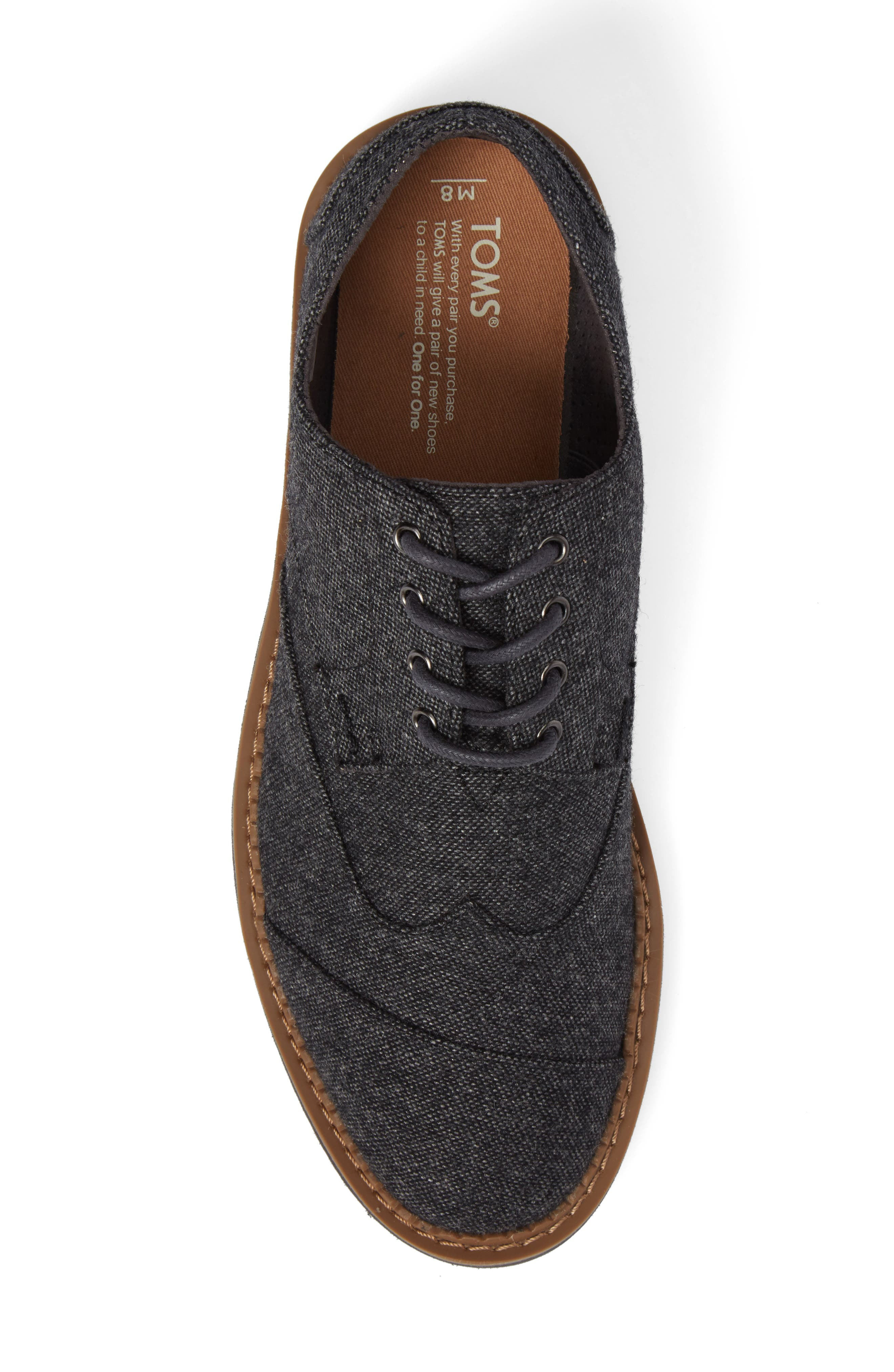 'Classic Brogue' Cotton Twill Derby,                             Alternate thumbnail 65, color,