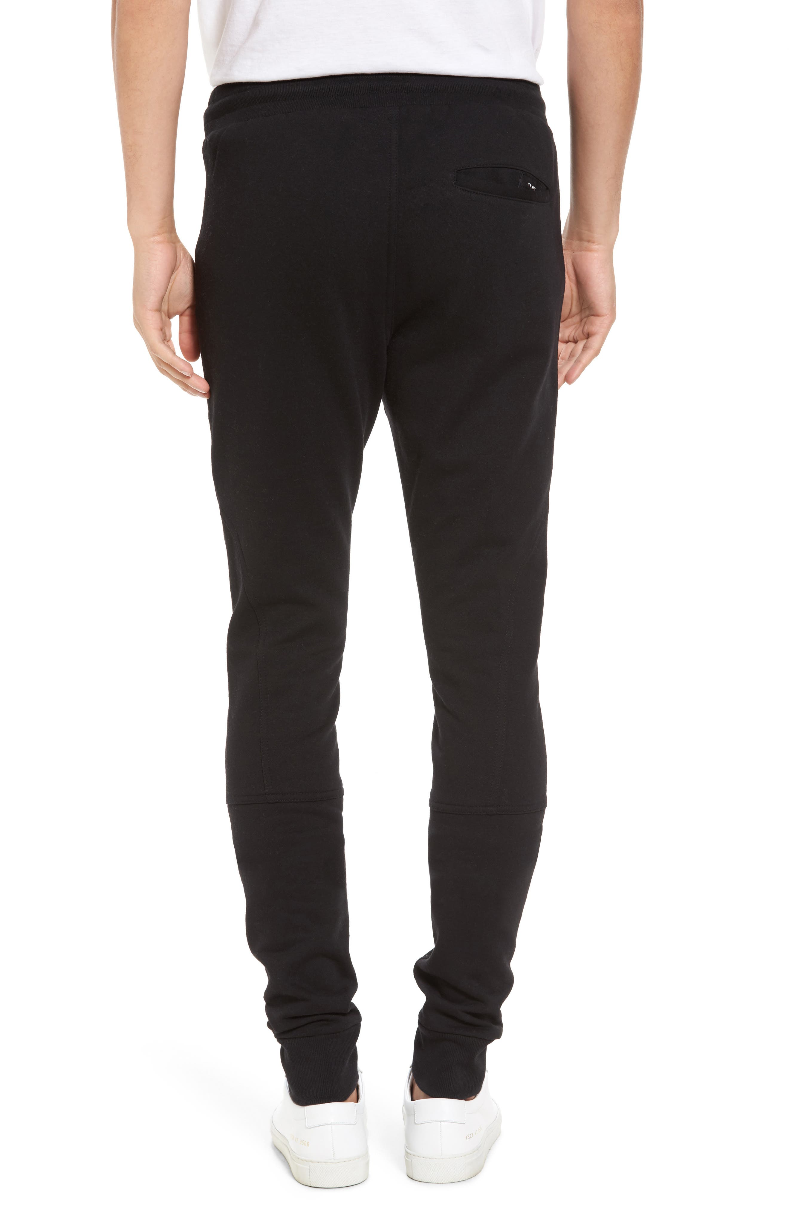 French Terry Sweatpants,                             Alternate thumbnail 2, color,                             001