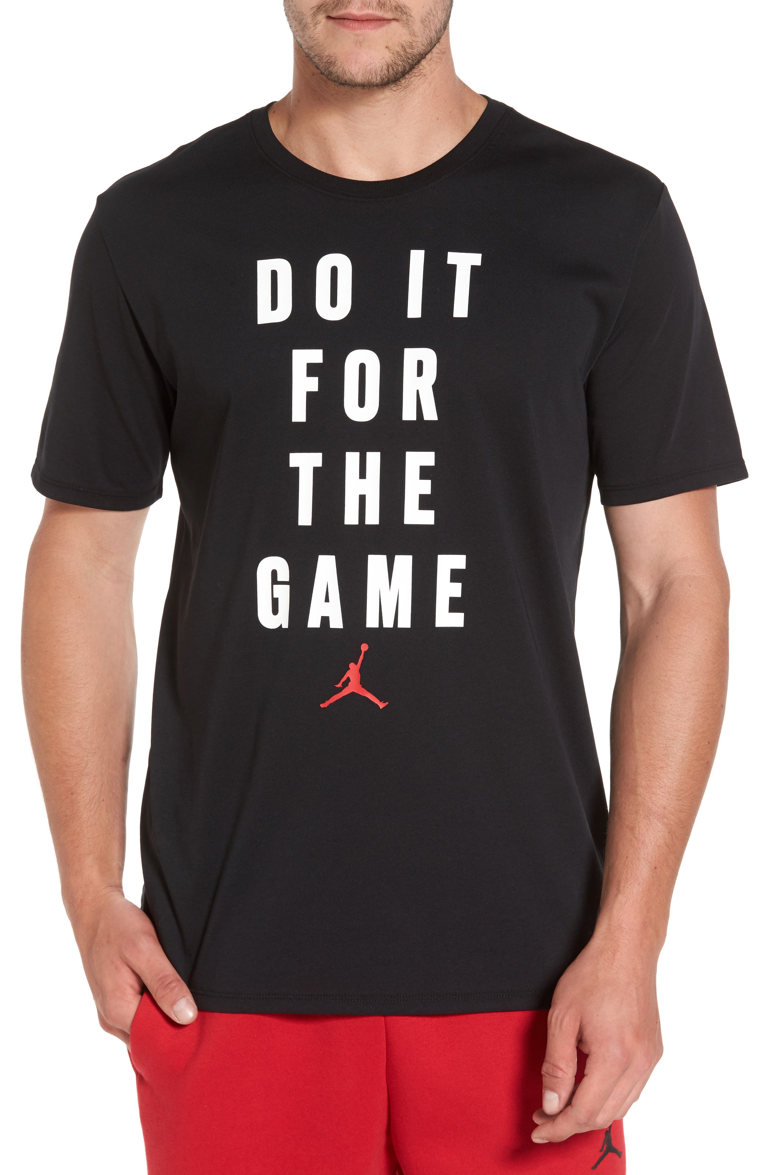 Sportswear Do It For the Game T-Shirt,                             Main thumbnail 1, color,