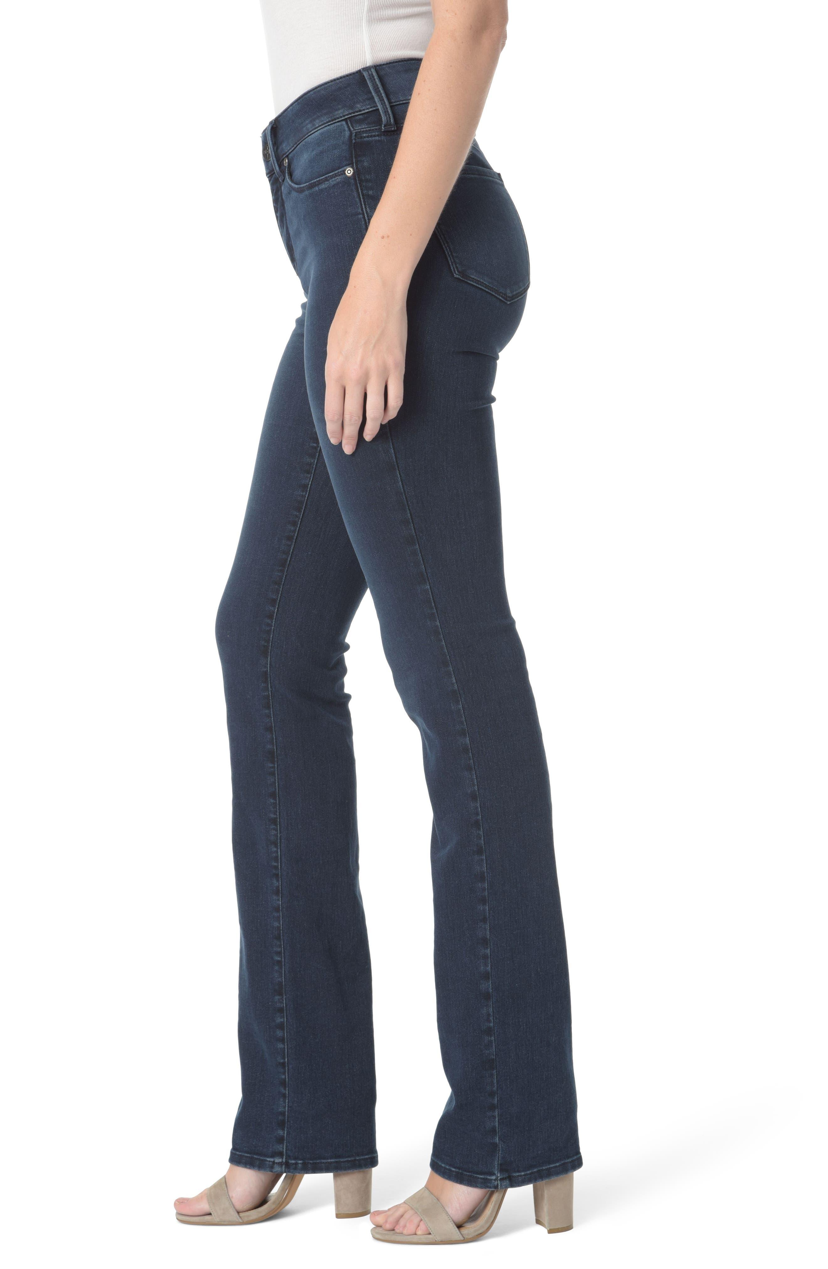 Marilyn Stretch Straight Leg Jeans,                             Alternate thumbnail 3, color,                             409