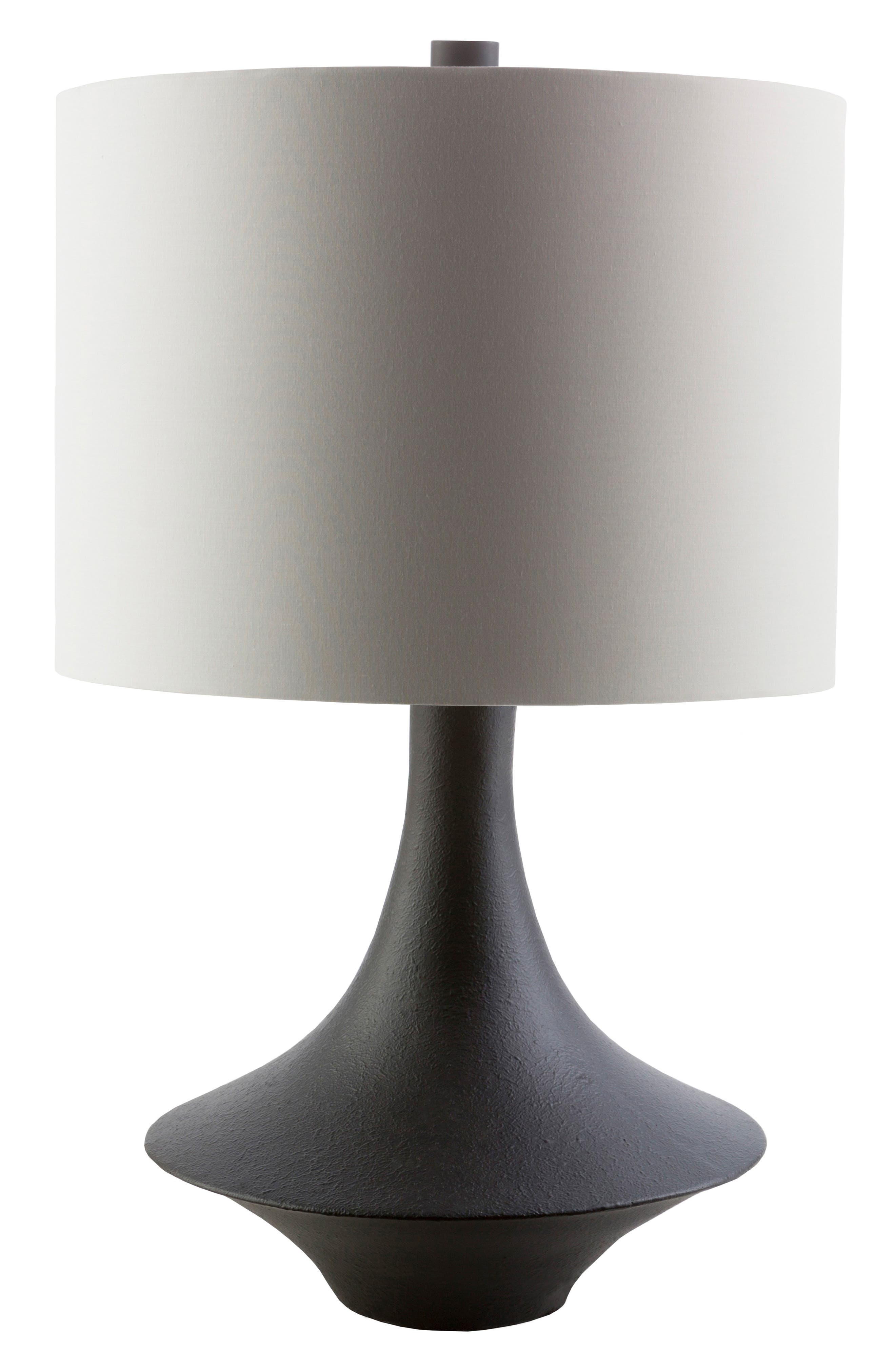 Surya Home Bryant Table Lamp Size One Size  Grey
