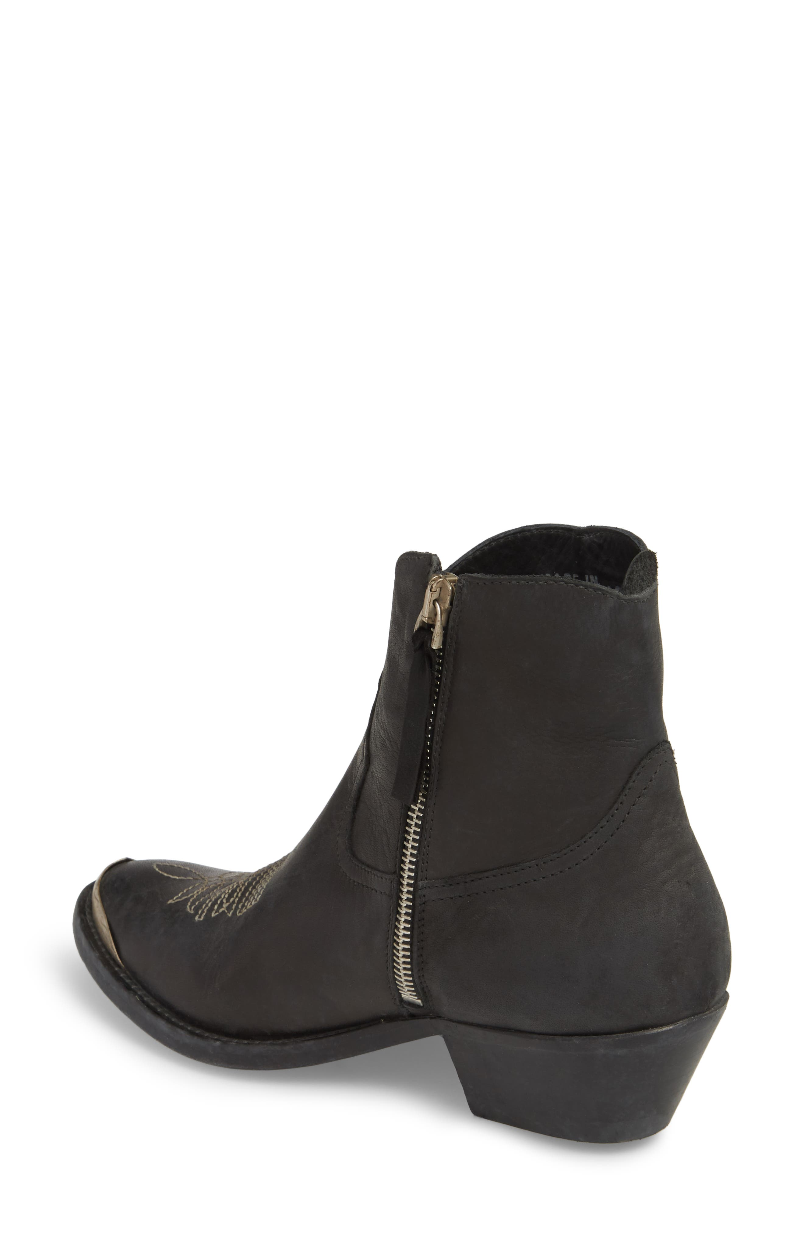 GOLDEN GOOSE,                             Young Western Bootie,                             Alternate thumbnail 2, color,                             BLACK