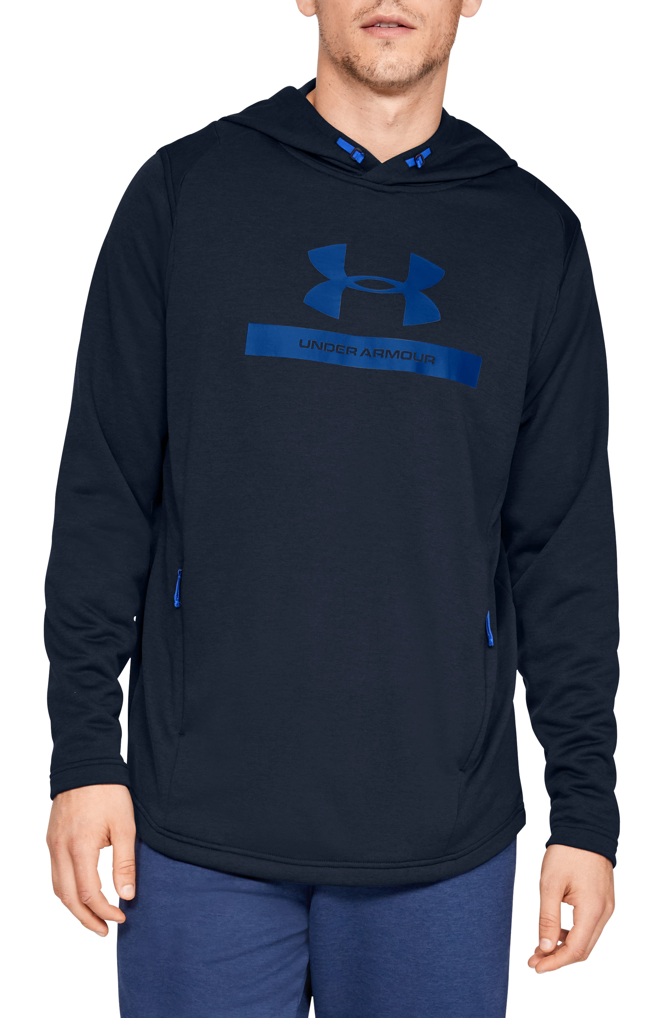 Under Armour Mk1 French Terry Hoodie, Blue
