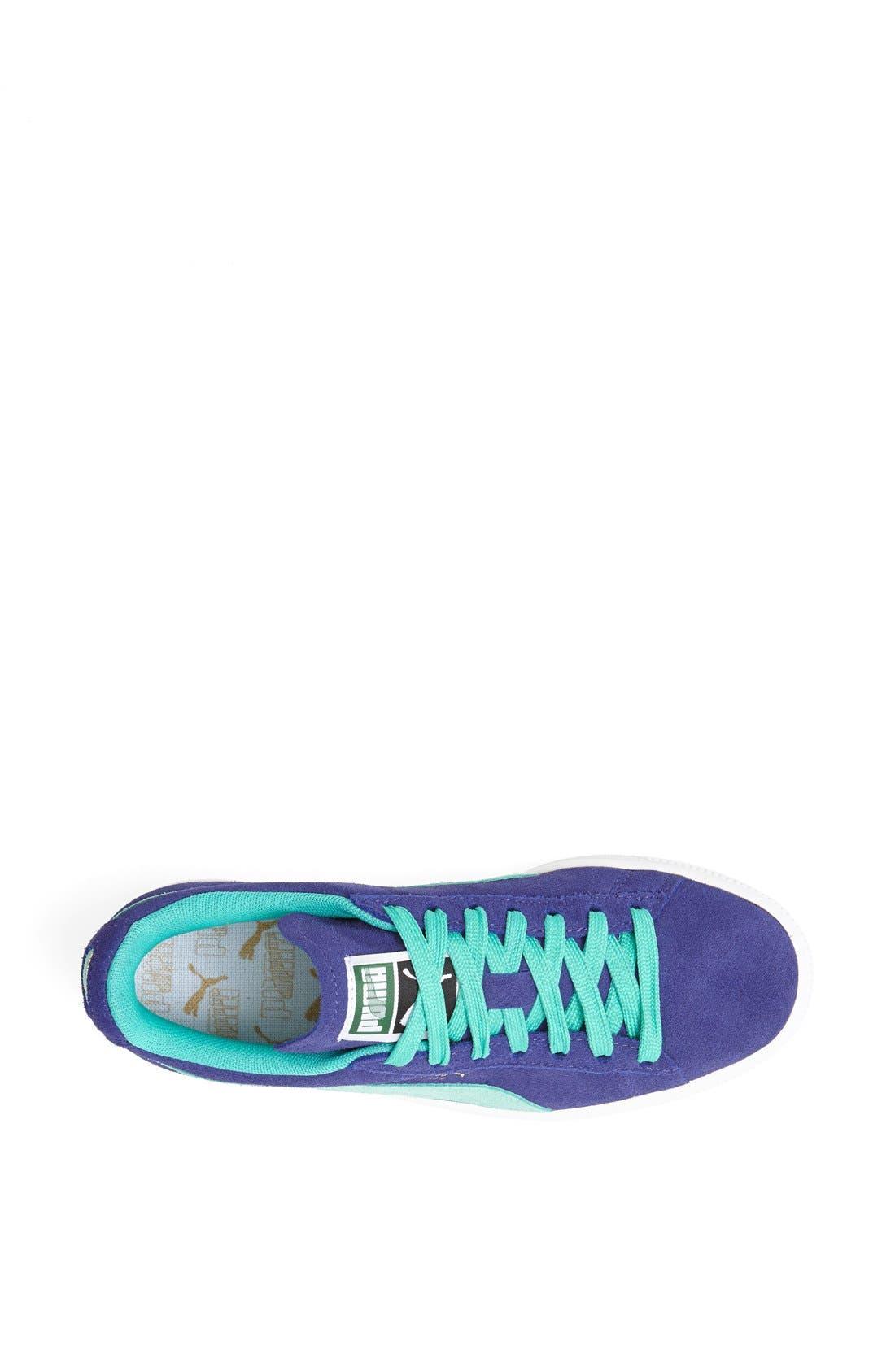 Suede Sneaker,                             Alternate thumbnail 98, color,
