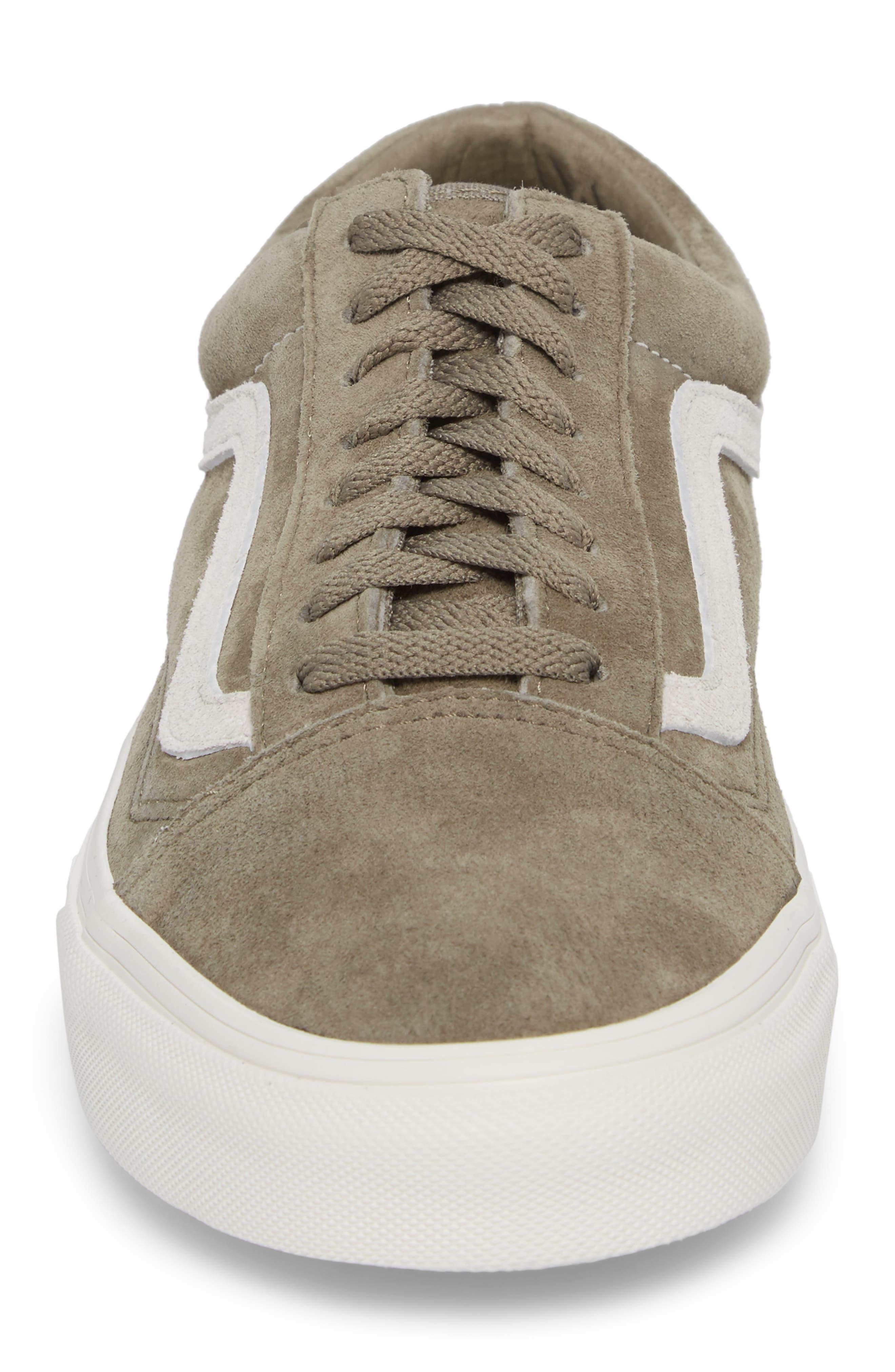 Suede Old Skool Sneaker,                             Alternate thumbnail 4, color,                             020