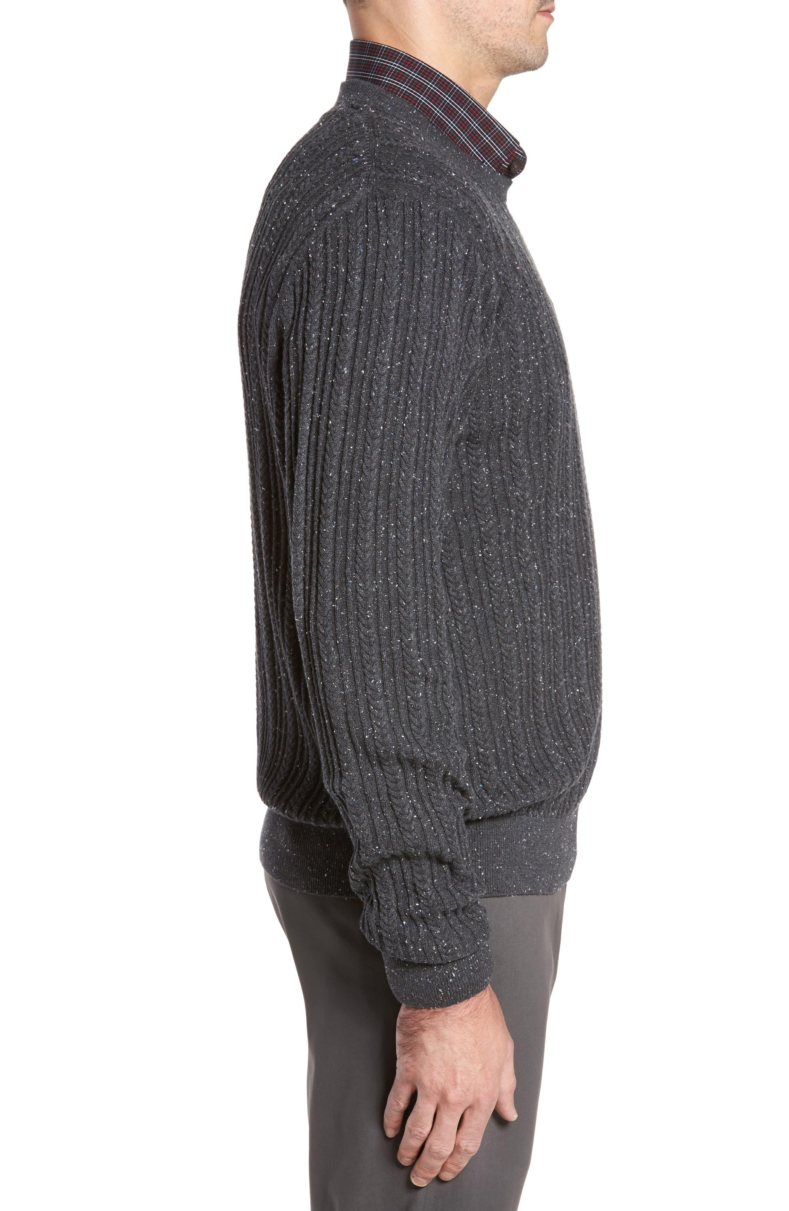 Carlton Crewneck Sweater,                             Alternate thumbnail 3, color,                             020