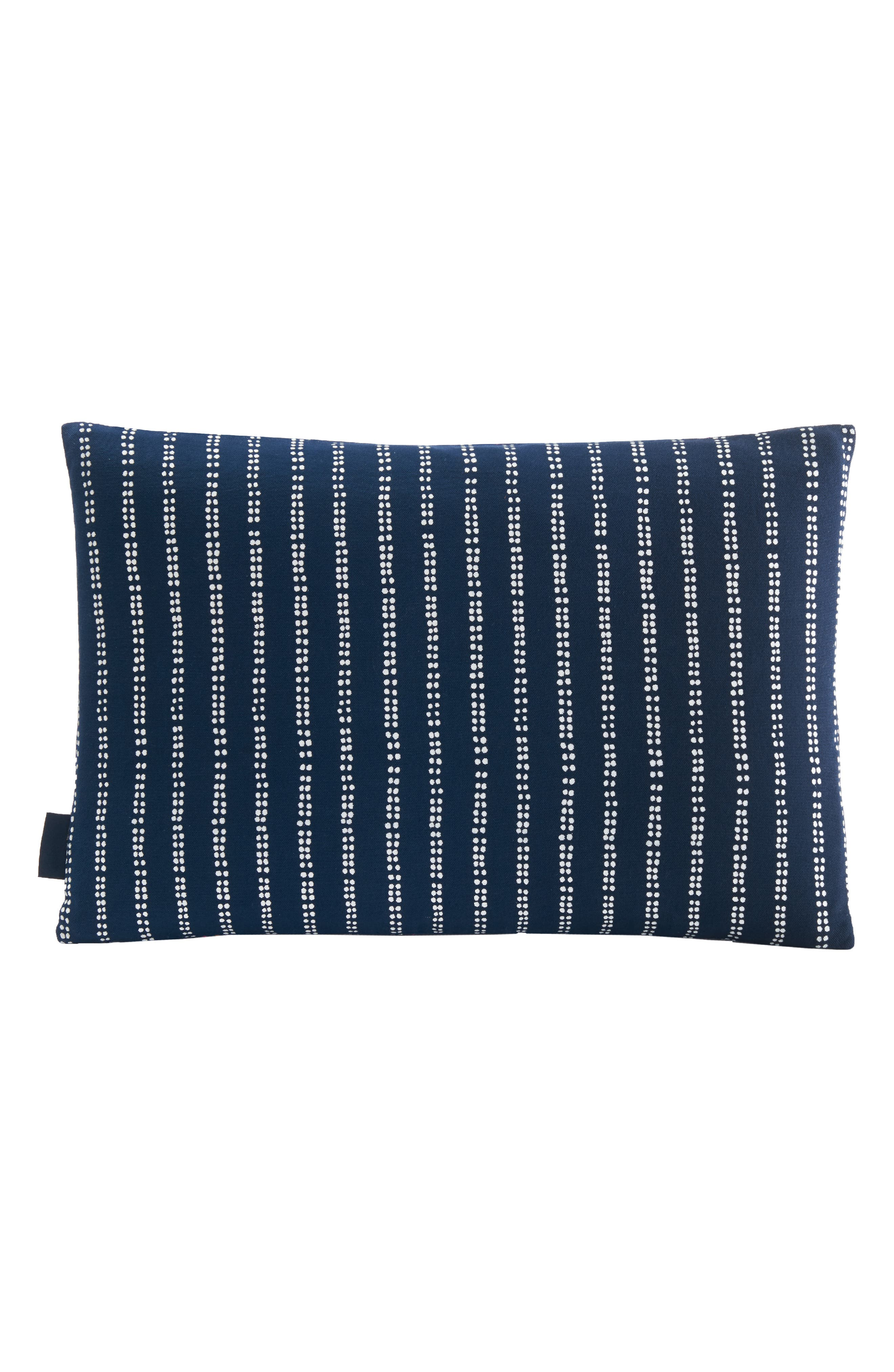 PENDLETON,                             Embroidered Print Accent Pillow,                             Alternate thumbnail 2, color,                             NAVY