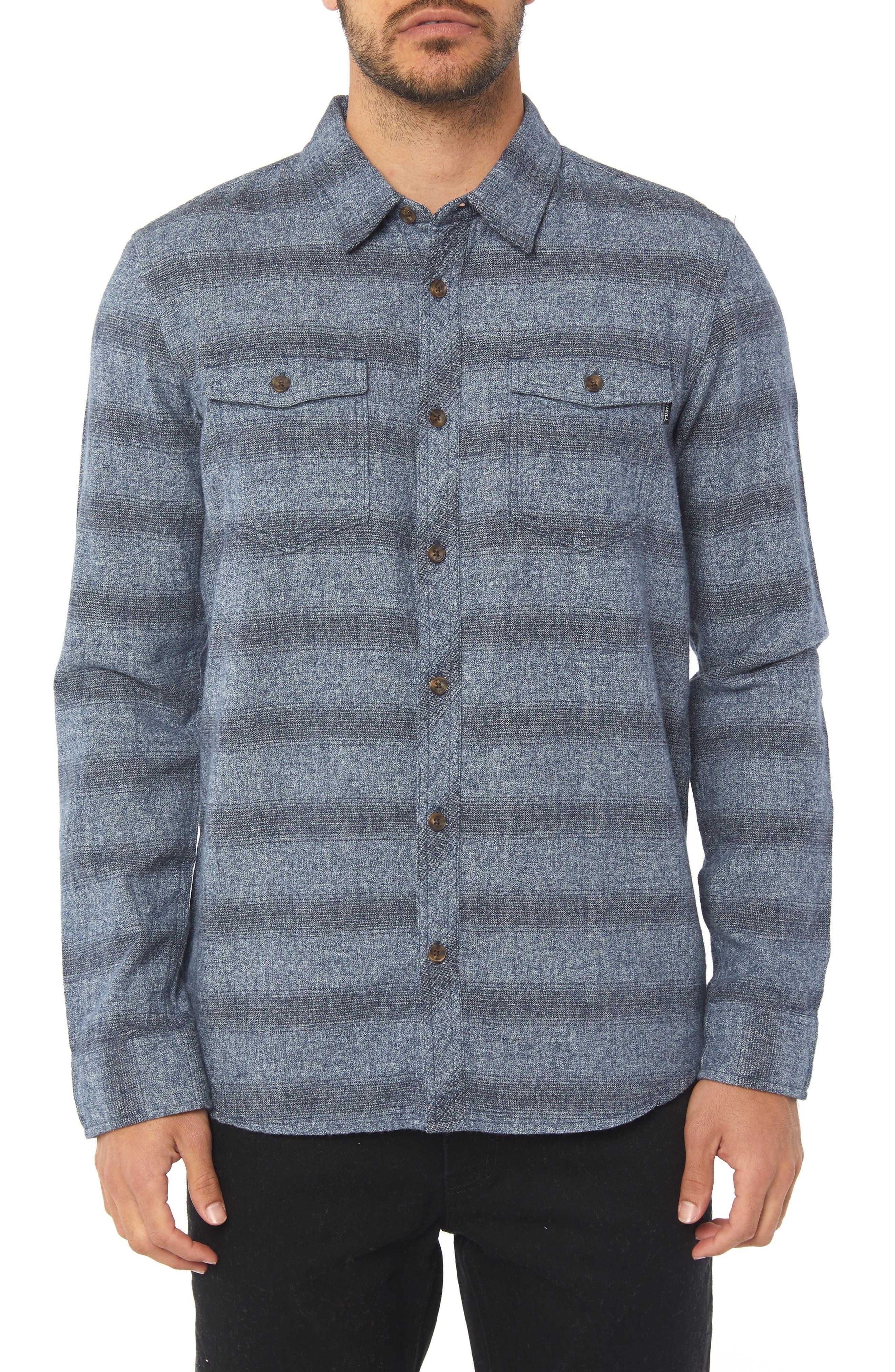 O'NEILL Covington Flannel Shirt, Main, color, 410