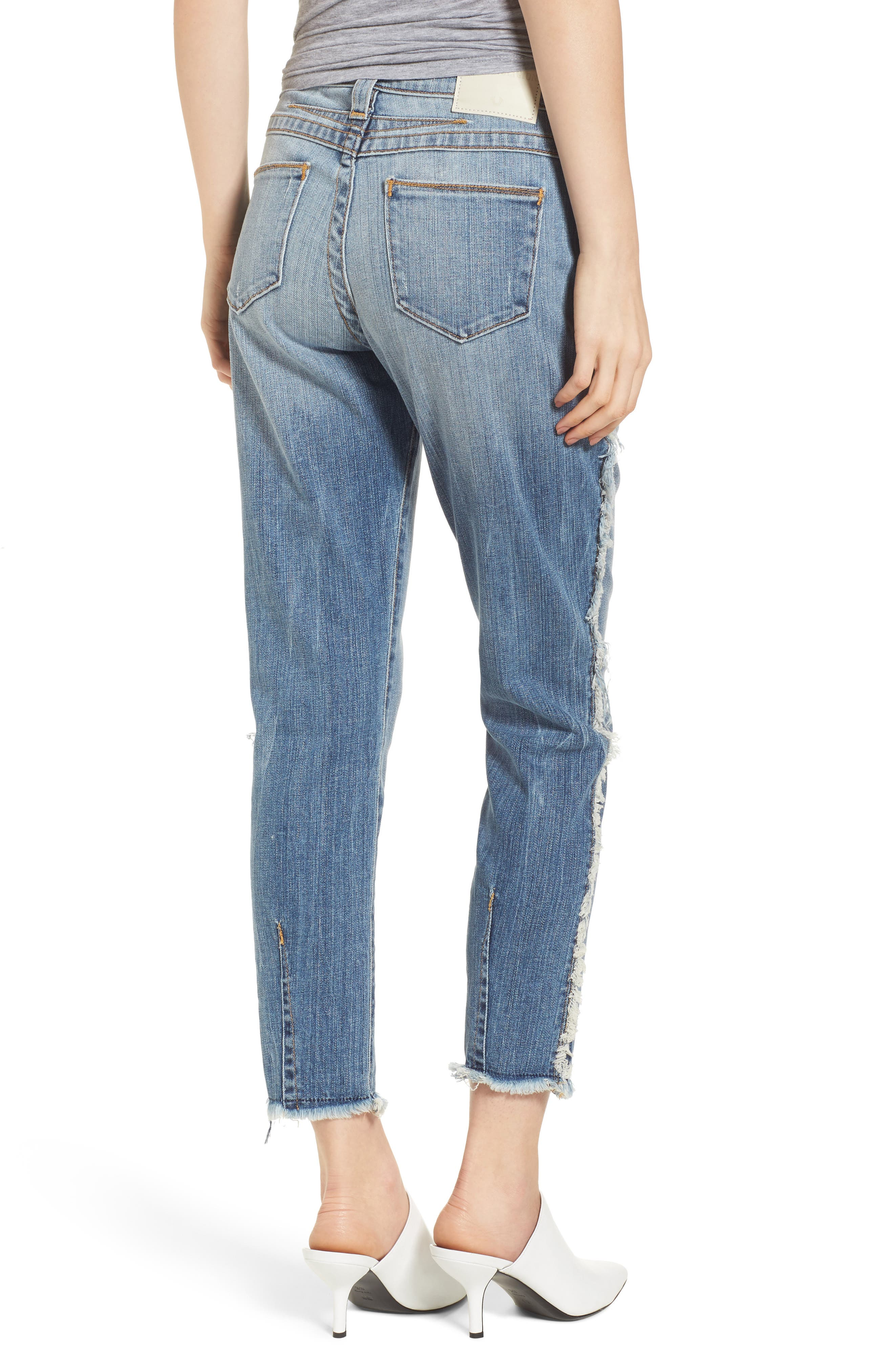Colette High Waist Tapered Skinny Jeans,                             Alternate thumbnail 2, color,                             401