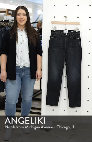 Straight Leg Ankle Jeans, sales video thumbnail