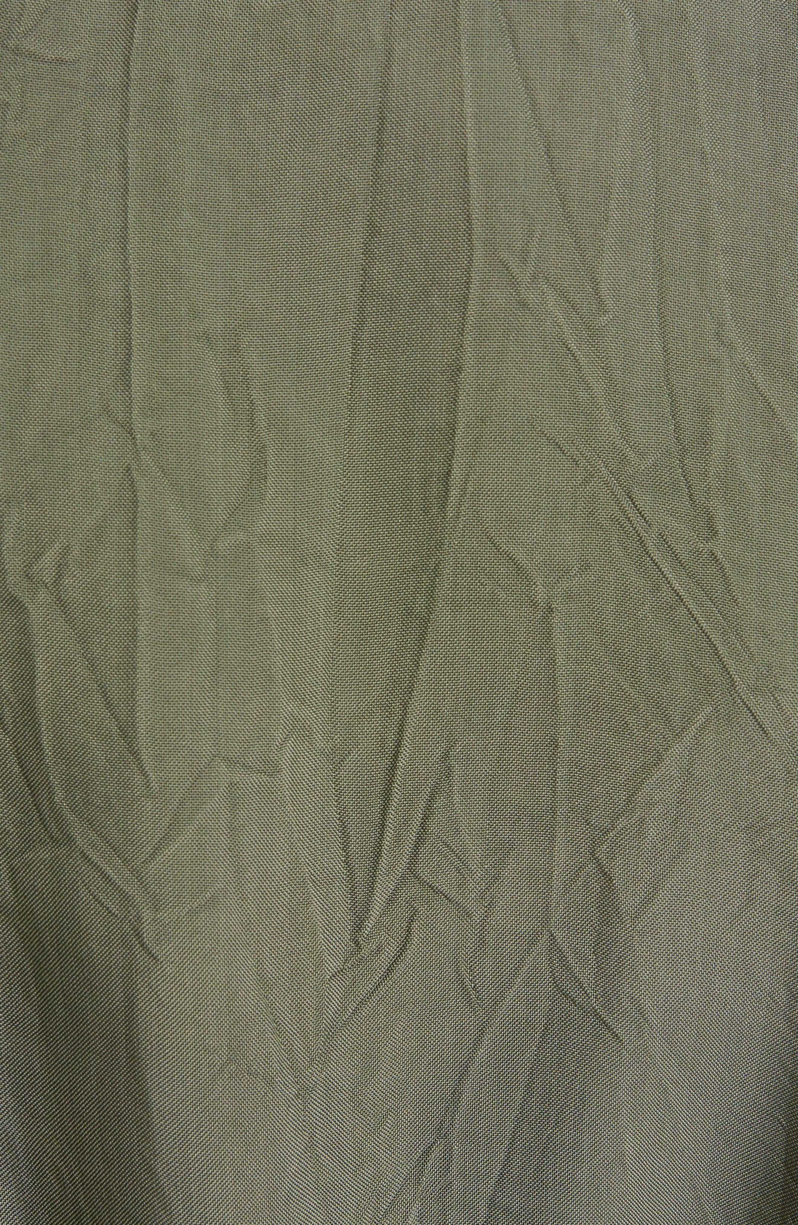 Crinkled Trench Coat,                             Alternate thumbnail 5, color,                             300