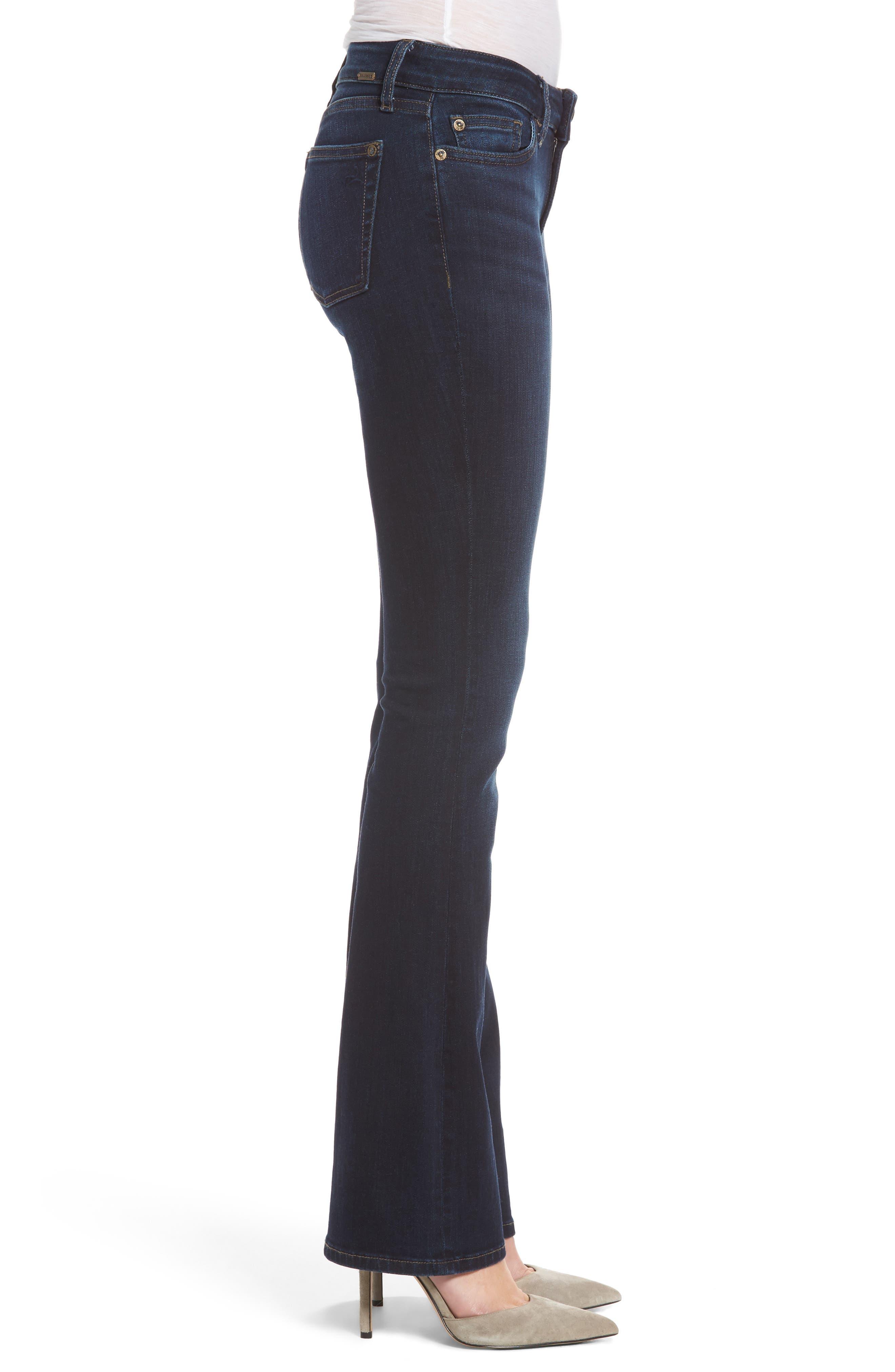Bridget Bootcut Jeans,                             Alternate thumbnail 3, color,                             405