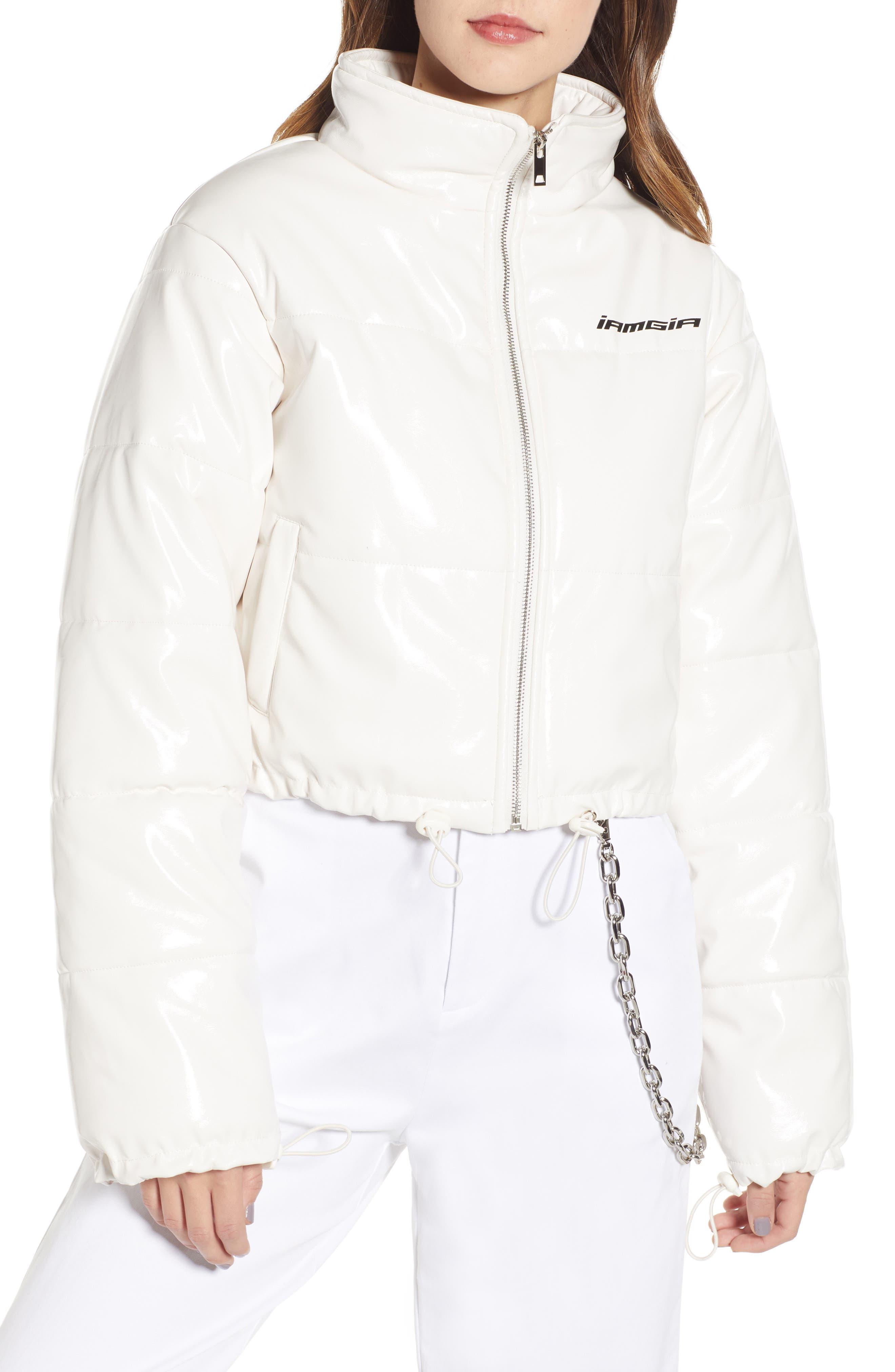 I.AM.GIA Road Warrior Jacket,                             Alternate thumbnail 4, color,                             WHITE