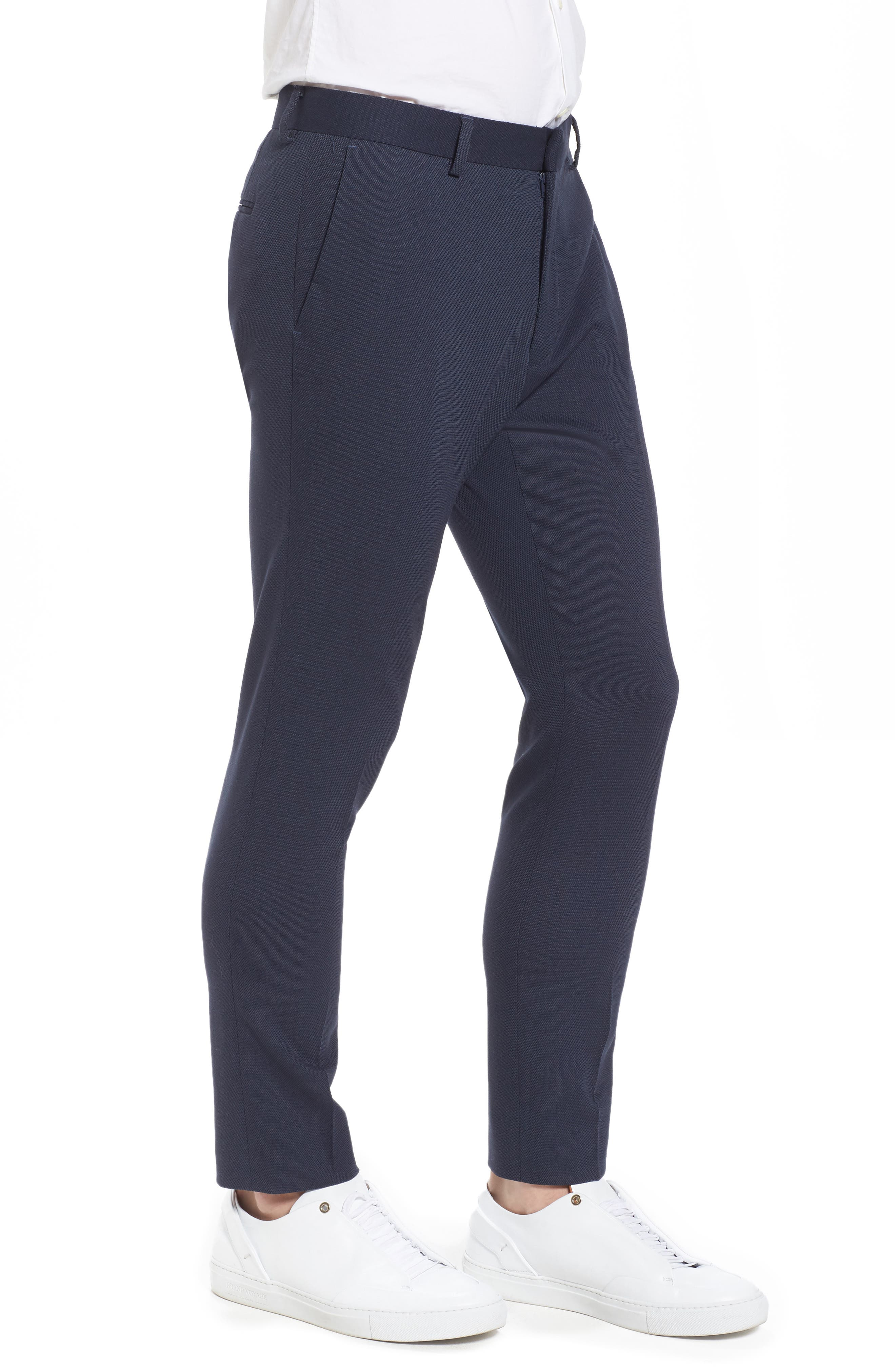 Skinny Fit Como Trousers,                             Alternate thumbnail 3, color,                             420