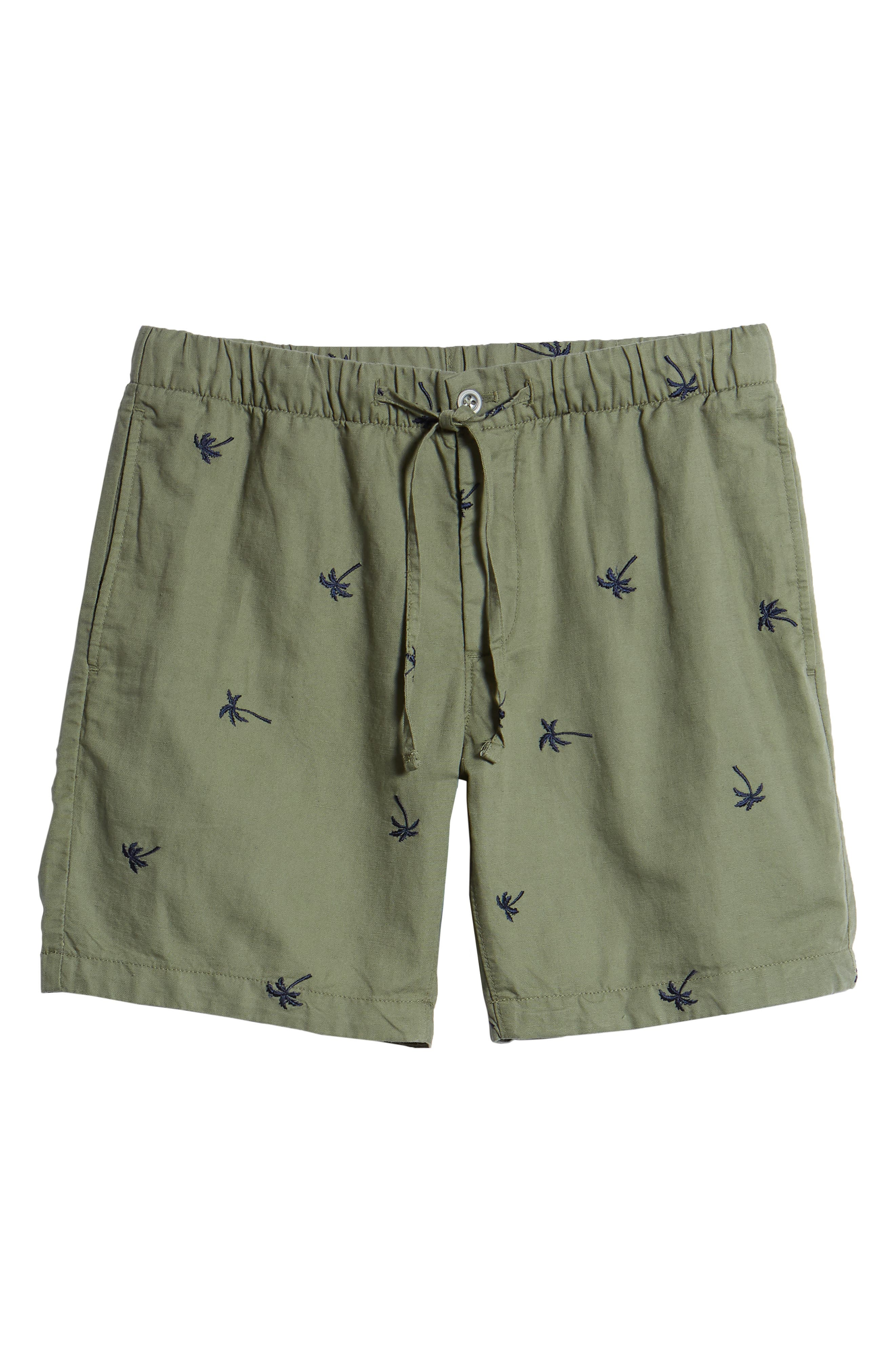 Print Beach Shorts,                             Alternate thumbnail 6, color,                             300