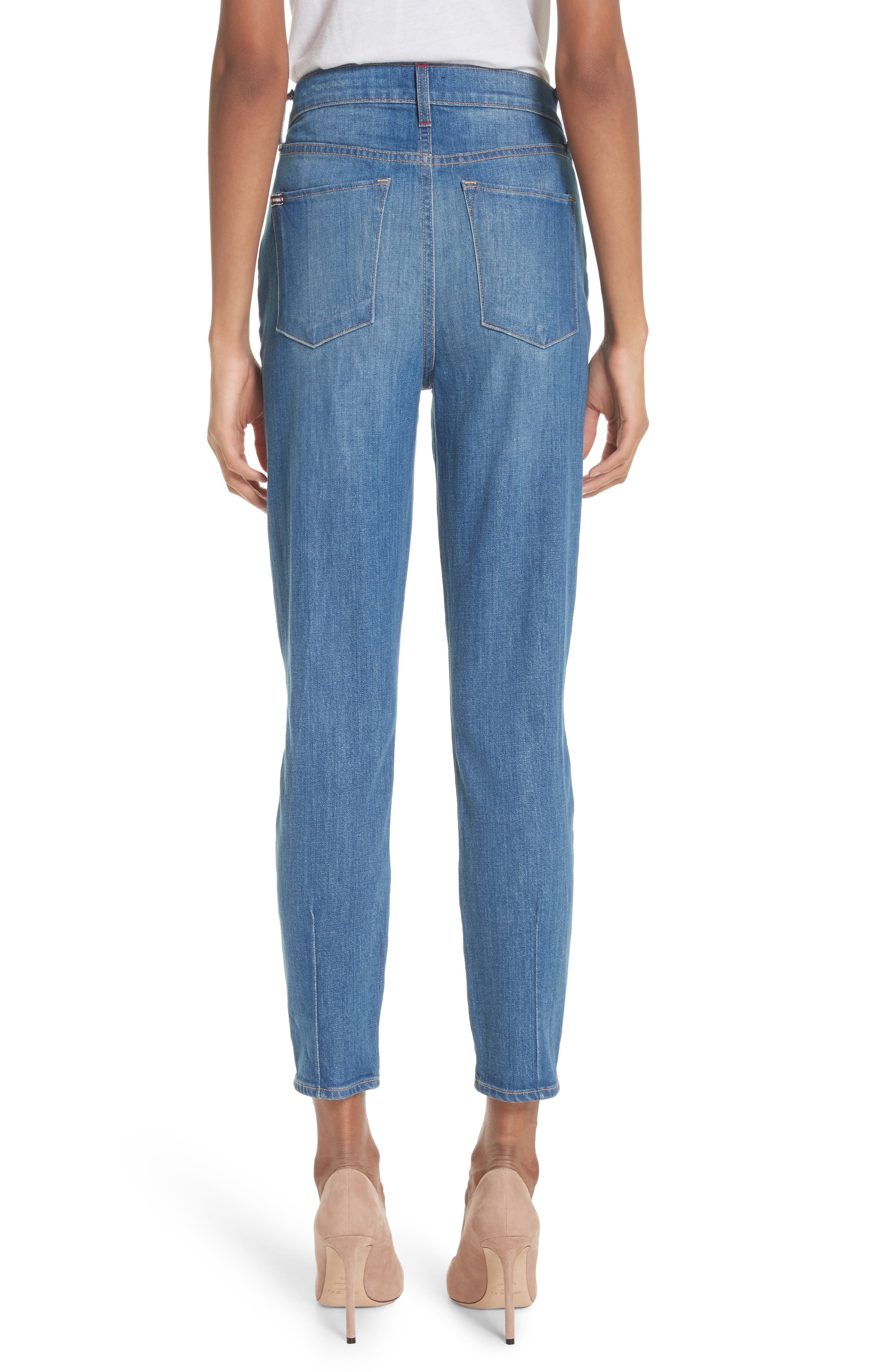 AO.LA Good High Waist Ankle Skinny Jeans,                             Alternate thumbnail 2, color,