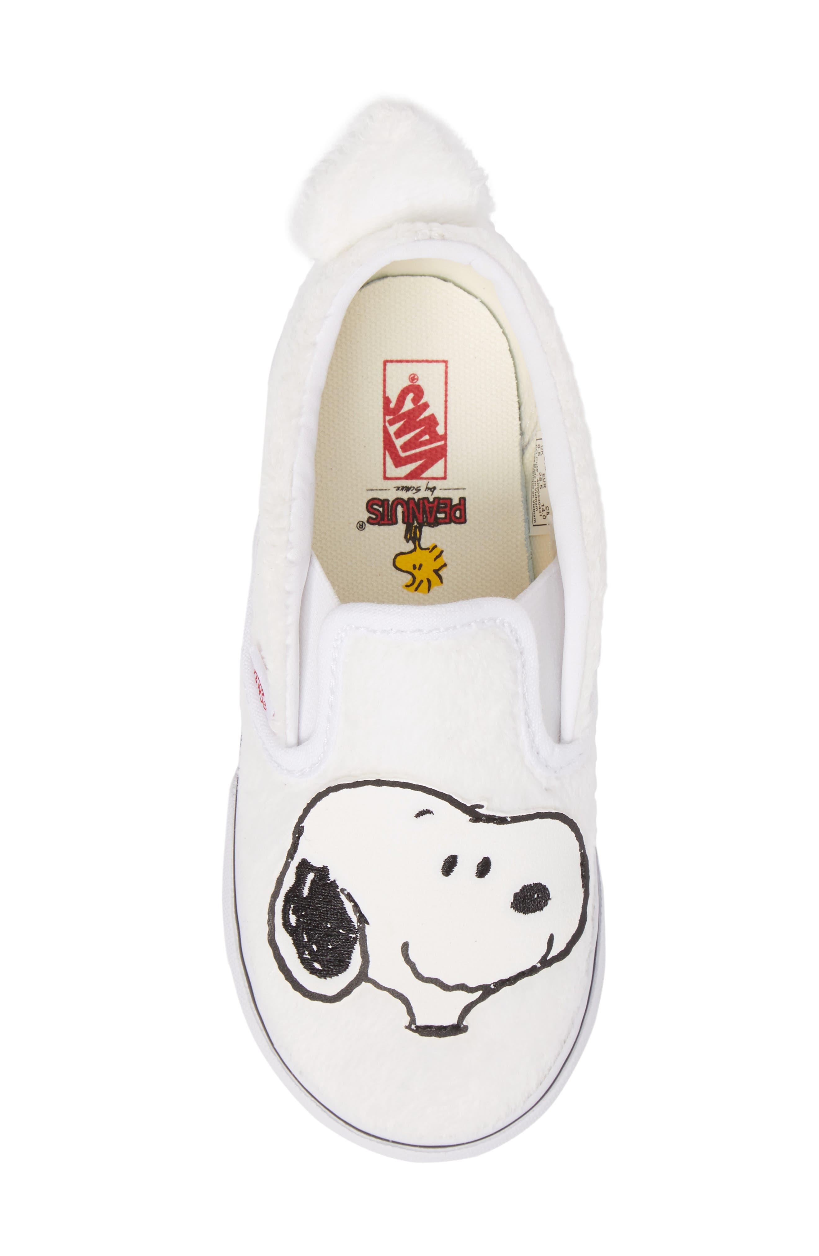 x Peanuts Slip-On Sneaker,                             Alternate thumbnail 5, color,                             100