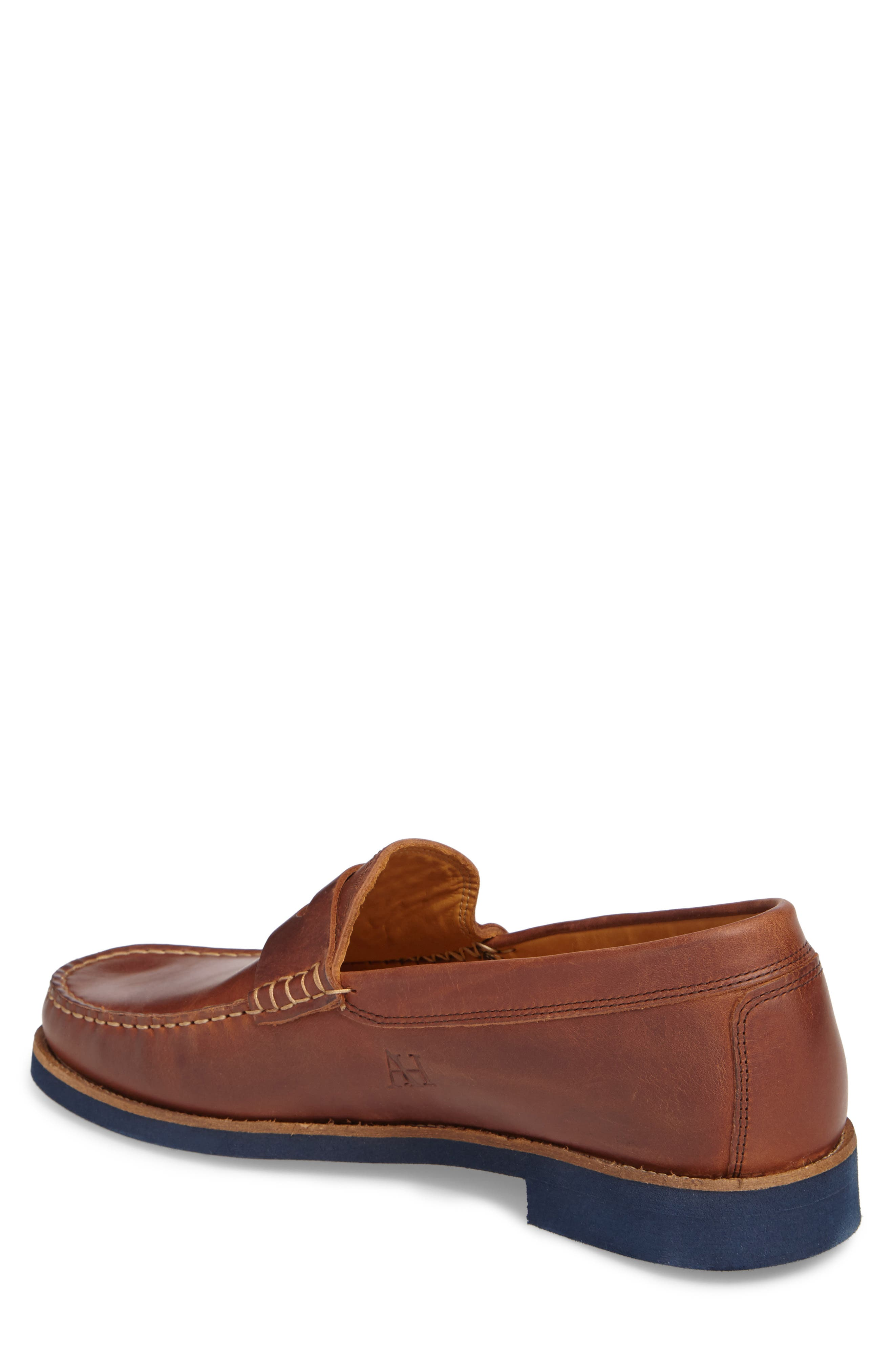 Lincolns Penny Loafer,                             Alternate thumbnail 2, color,                             LIGHT BROWN