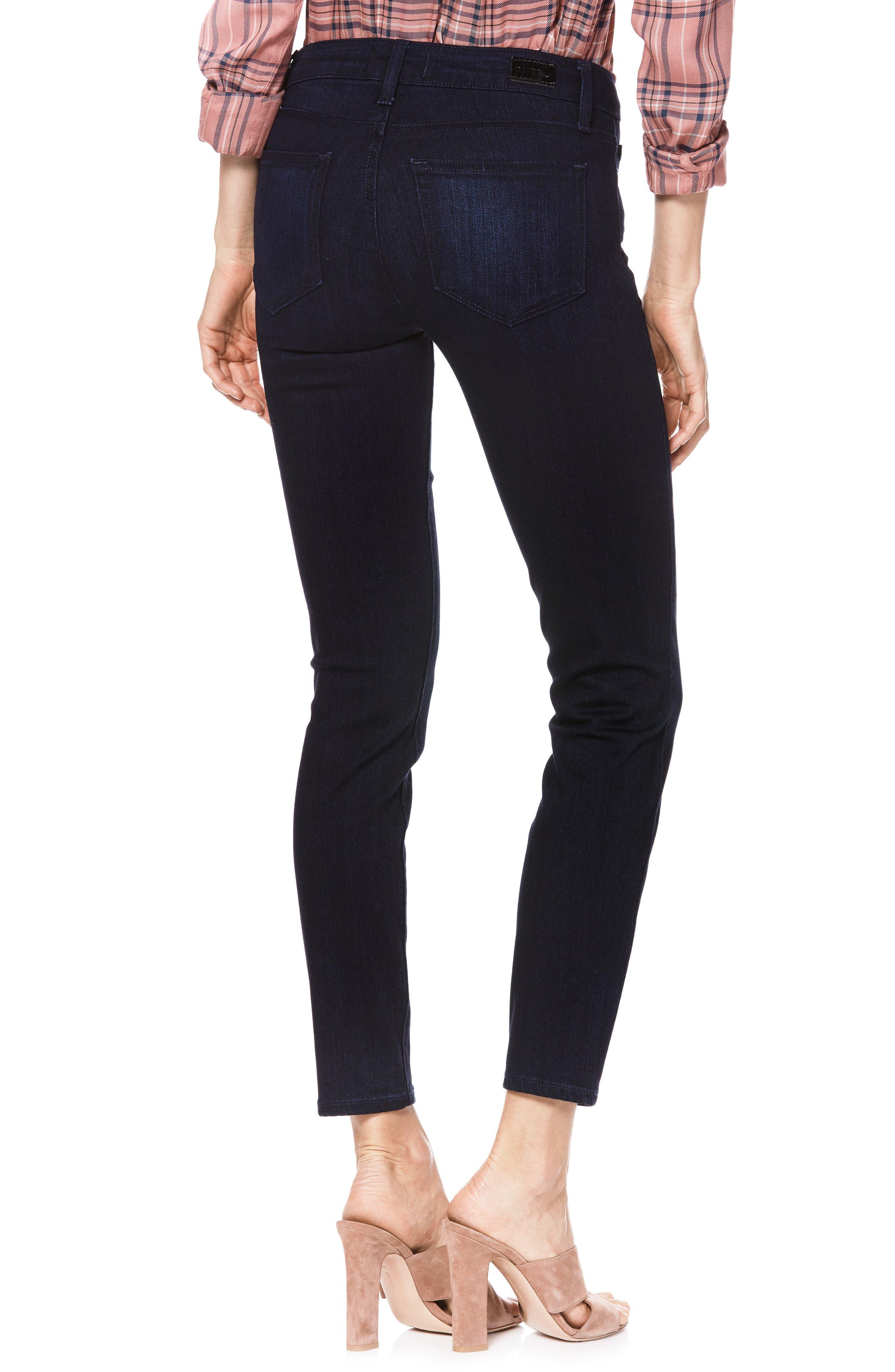 Transcend - Verdugo Ankle Skinny Jeans,                             Alternate thumbnail 2, color,                             LANA
