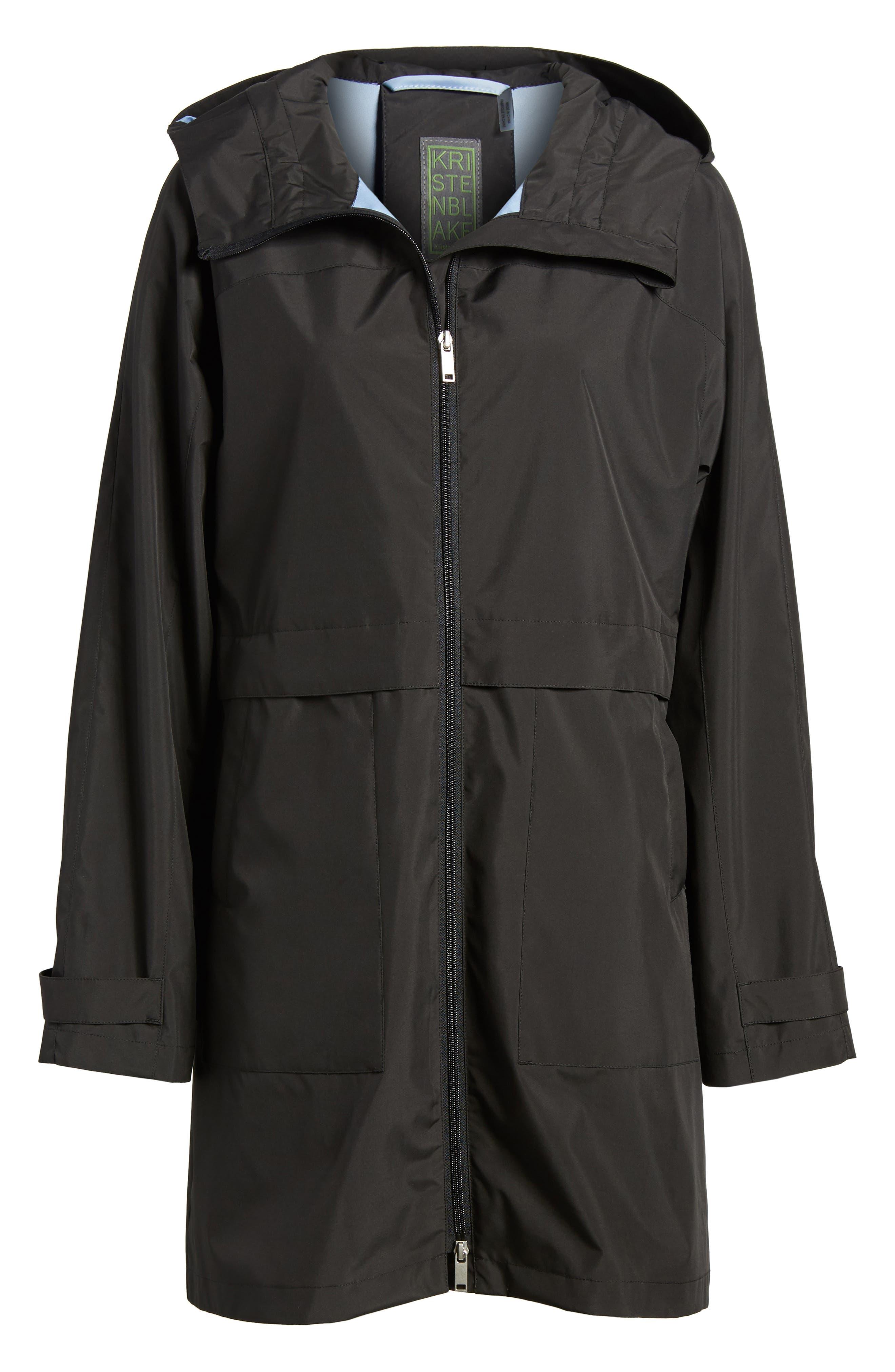 Pearl Cloth Hooded Jacket,                             Alternate thumbnail 10, color,