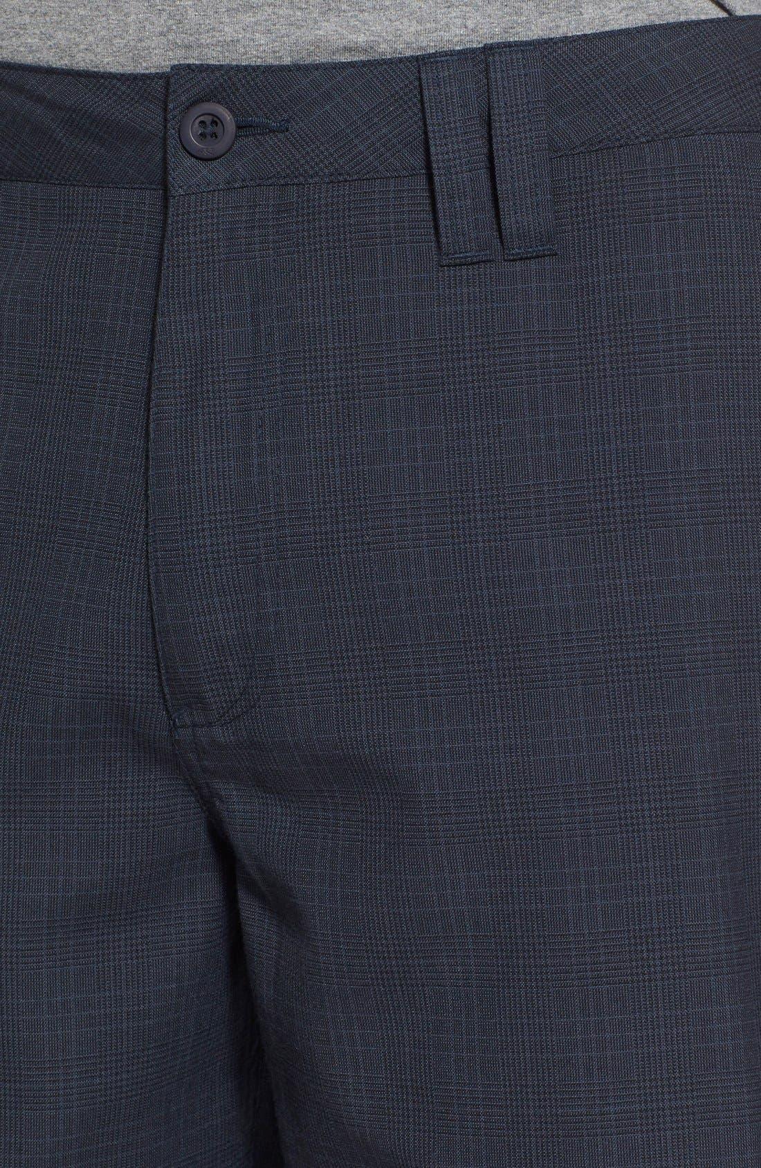 'Delta Plaid' Chino Shorts,                             Alternate thumbnail 9, color,