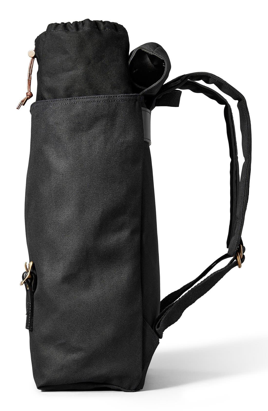 'Ranger' Canvas Backpack,                             Alternate thumbnail 3, color,                             001