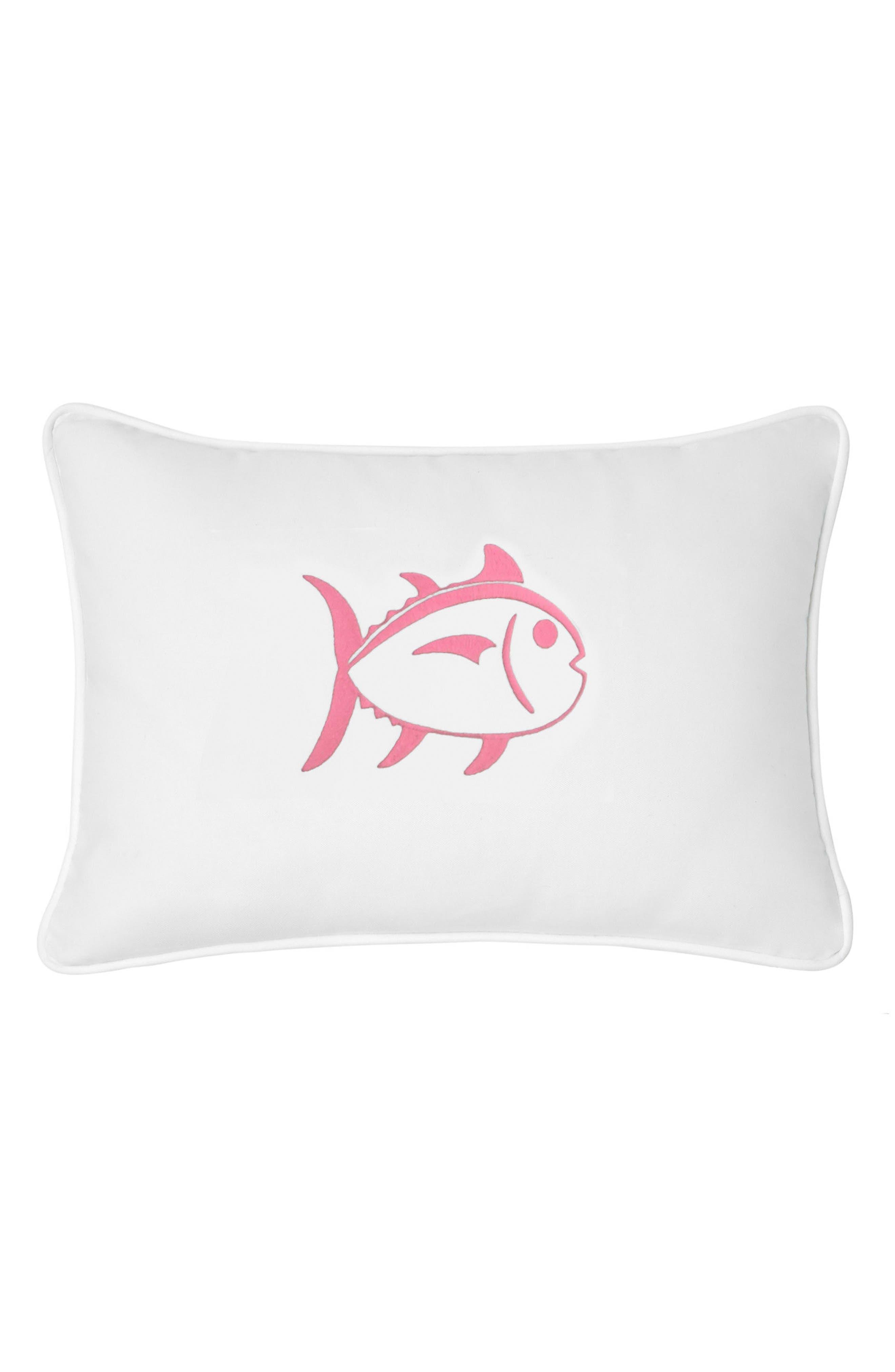 Skipjack Fish Accent Pillow,                             Main thumbnail 1, color,                             020