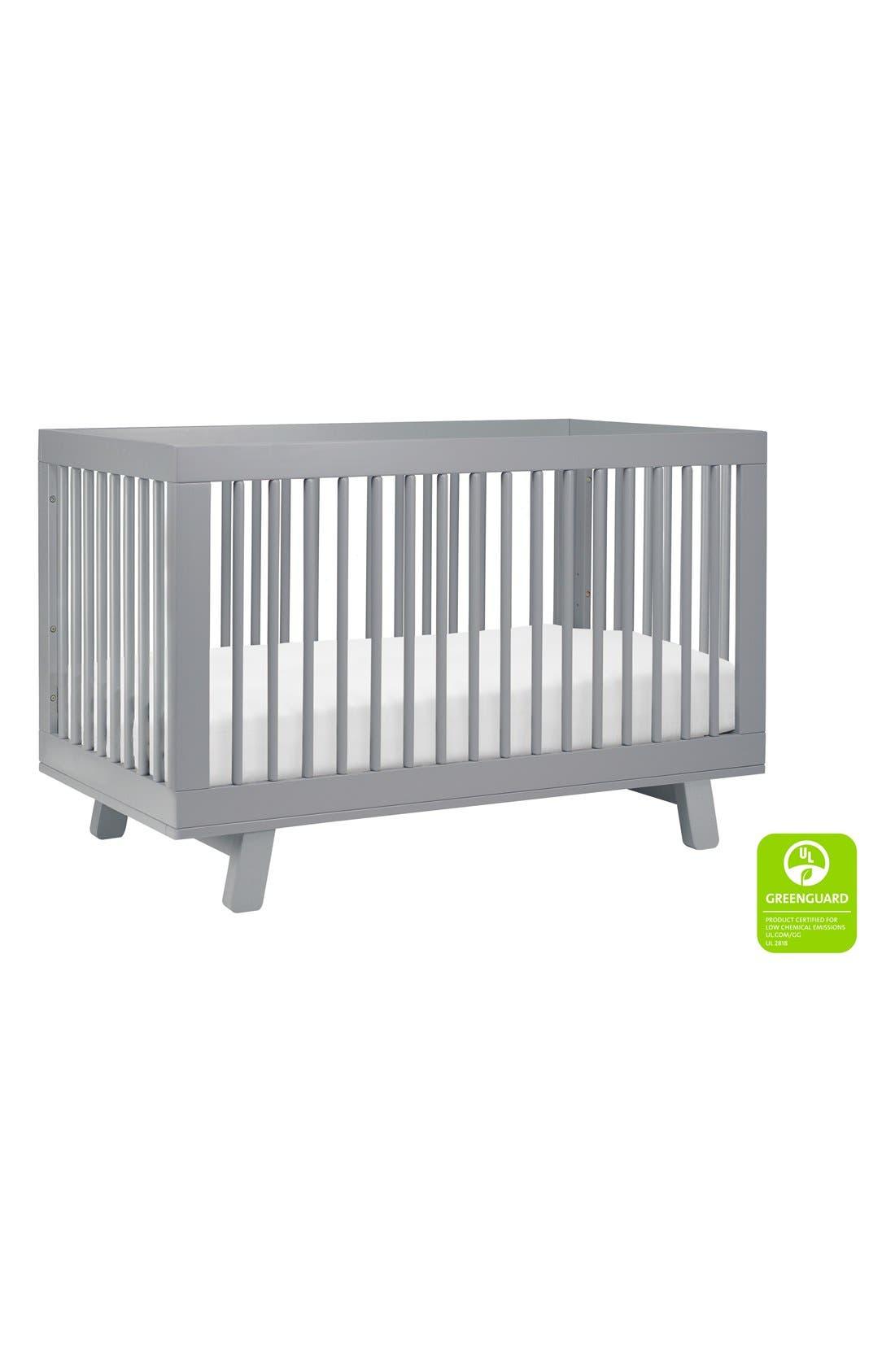 'Hudson' 3-in-1 Convertible Crib,                             Alternate thumbnail 23, color,