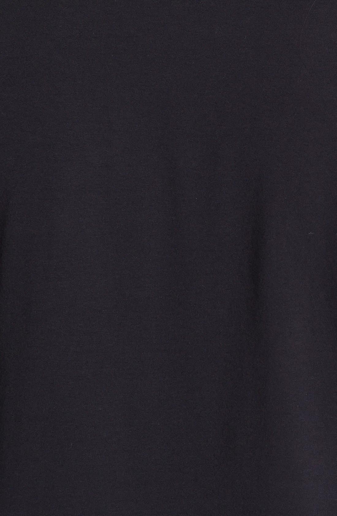 'Python' V-Neck T-Shirt,                             Alternate thumbnail 3, color,                             001