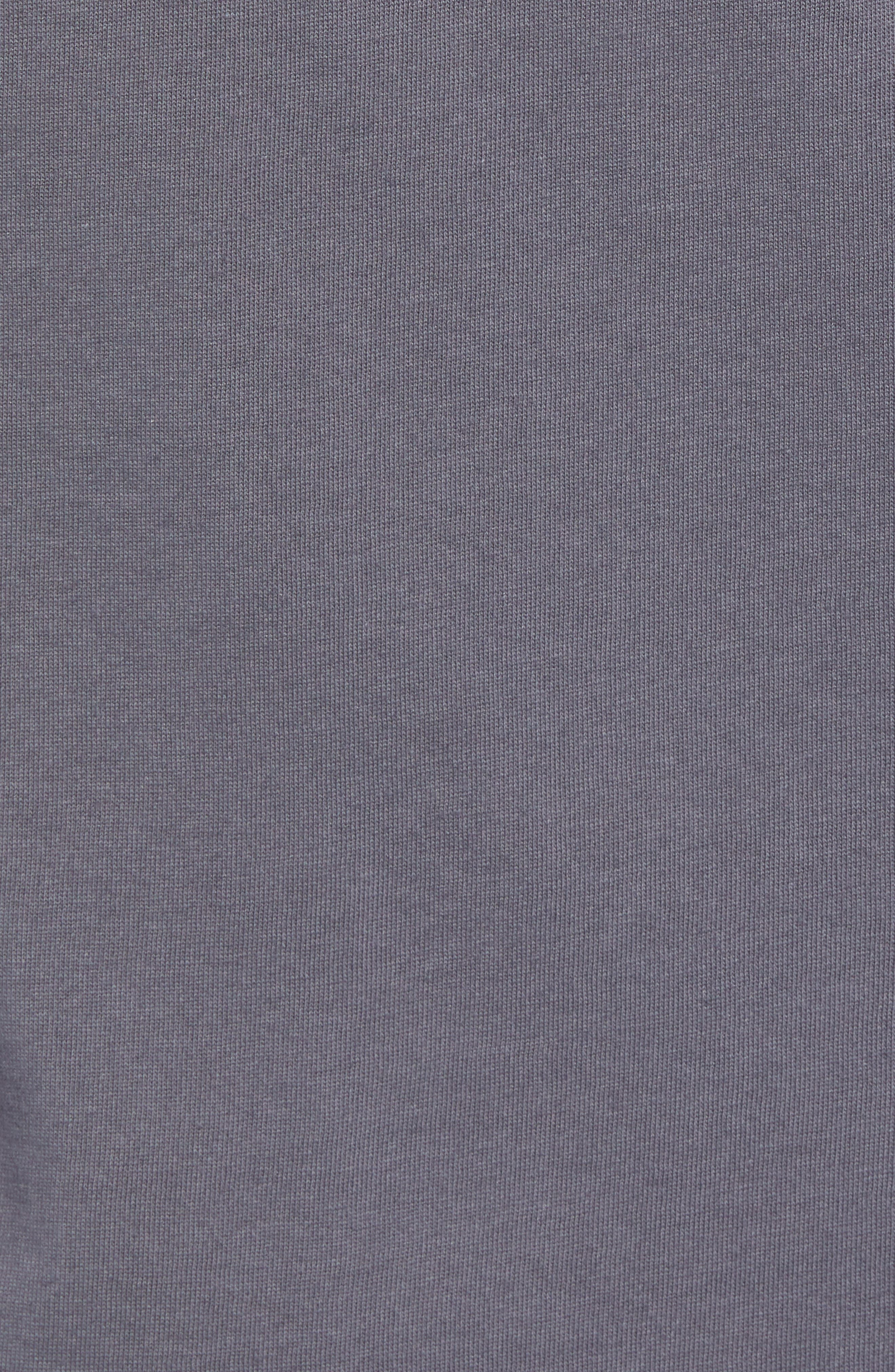 SB Dry Tropical Graphic T-Shirt,                             Alternate thumbnail 5, color,                             DARK GREY/ DYNAMIC YELLOW