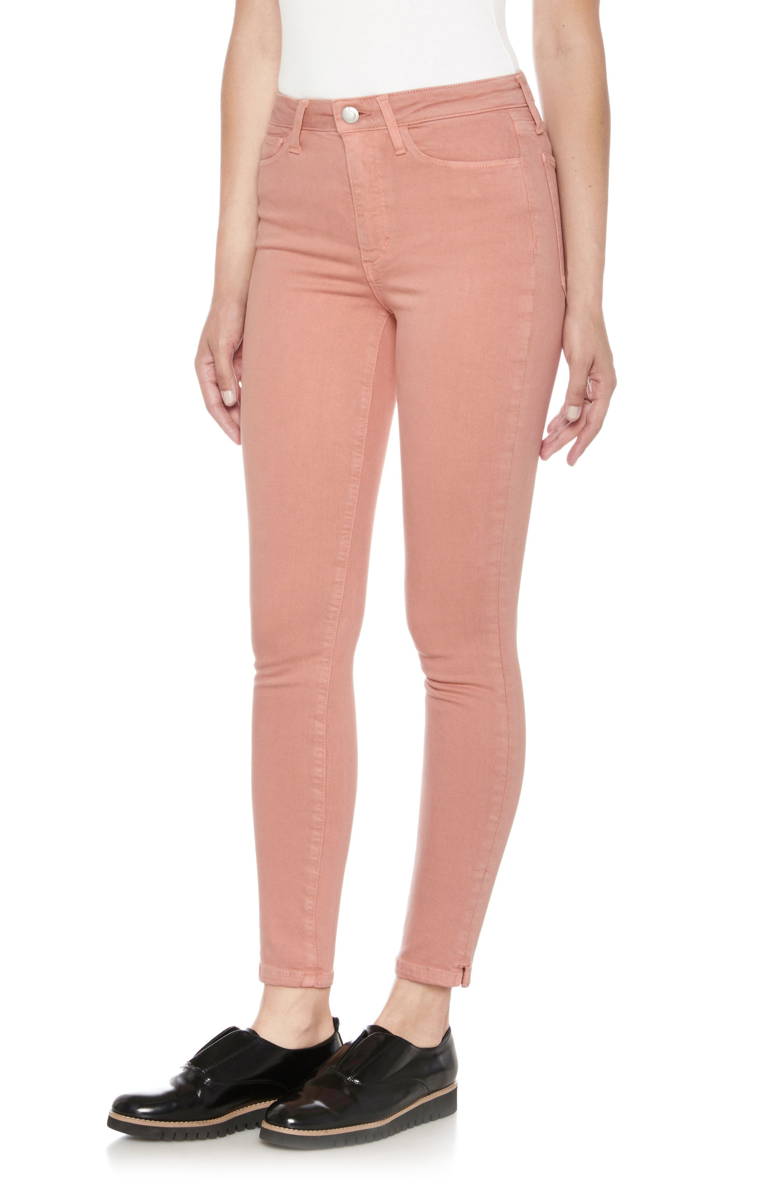 Charlie High Waist Ankle Skinny Jeans,                             Main thumbnail 4, color,