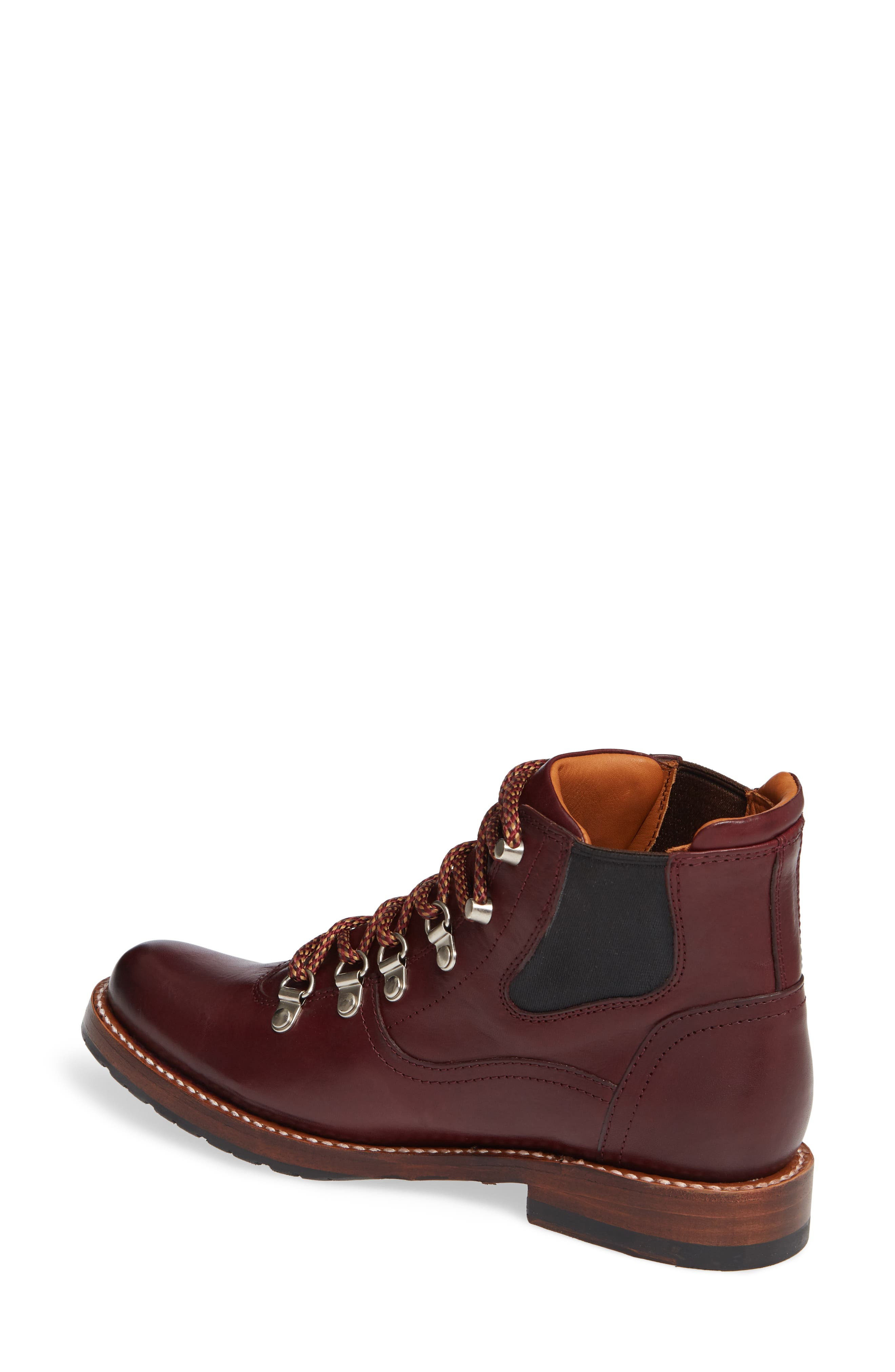 by Ariat Victoria Hiking Bootie,                             Alternate thumbnail 2, color,                             CORDOVAN LEATHER