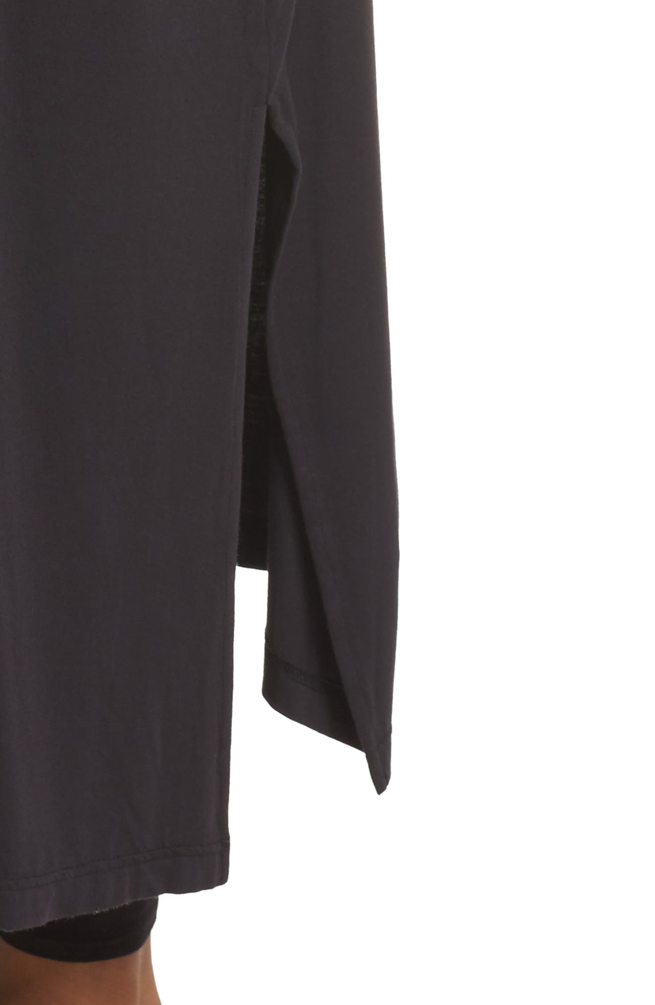 Eleanor Duster,                             Alternate thumbnail 4, color,                             BLACK