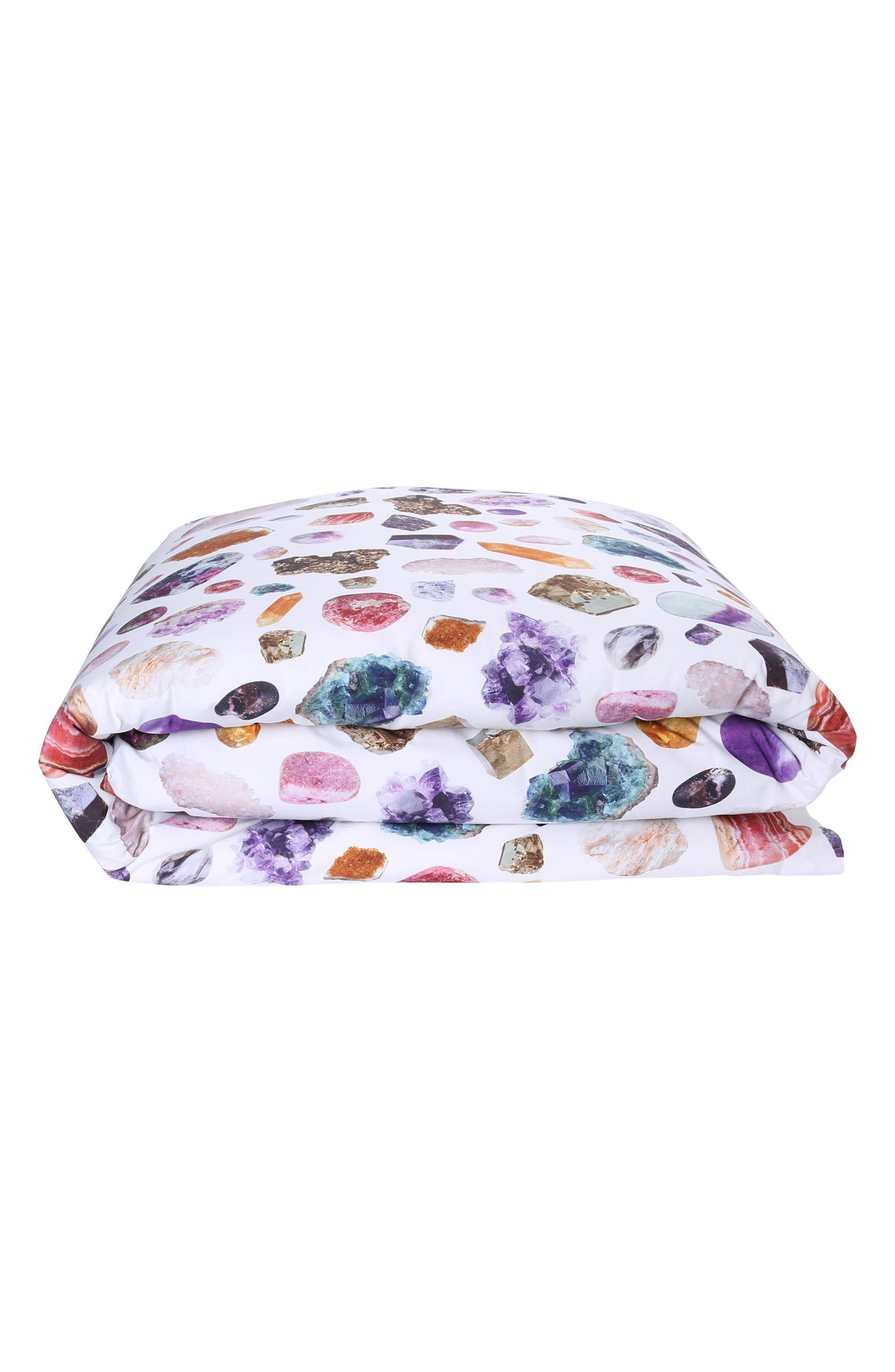 Little Gem Cotton Duvet Cover,                         Main,                         color, MULTI