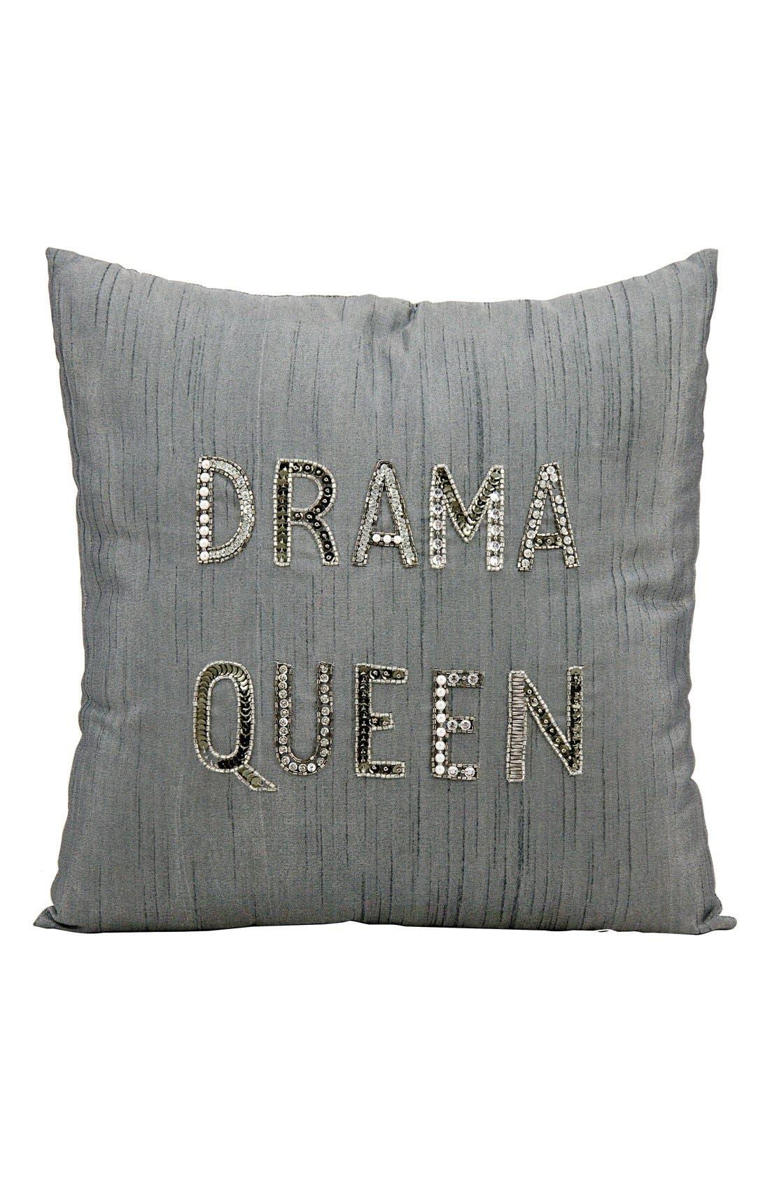 'Drama Queen' Pillow,                         Main,                         color,