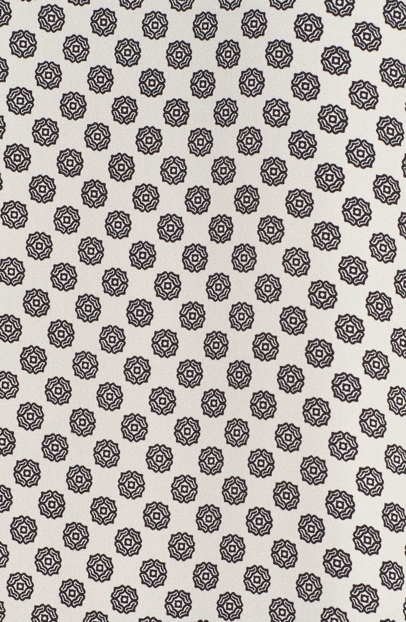Hammer Satin Bell Sleeve Blouse,                             Alternate thumbnail 34, color,