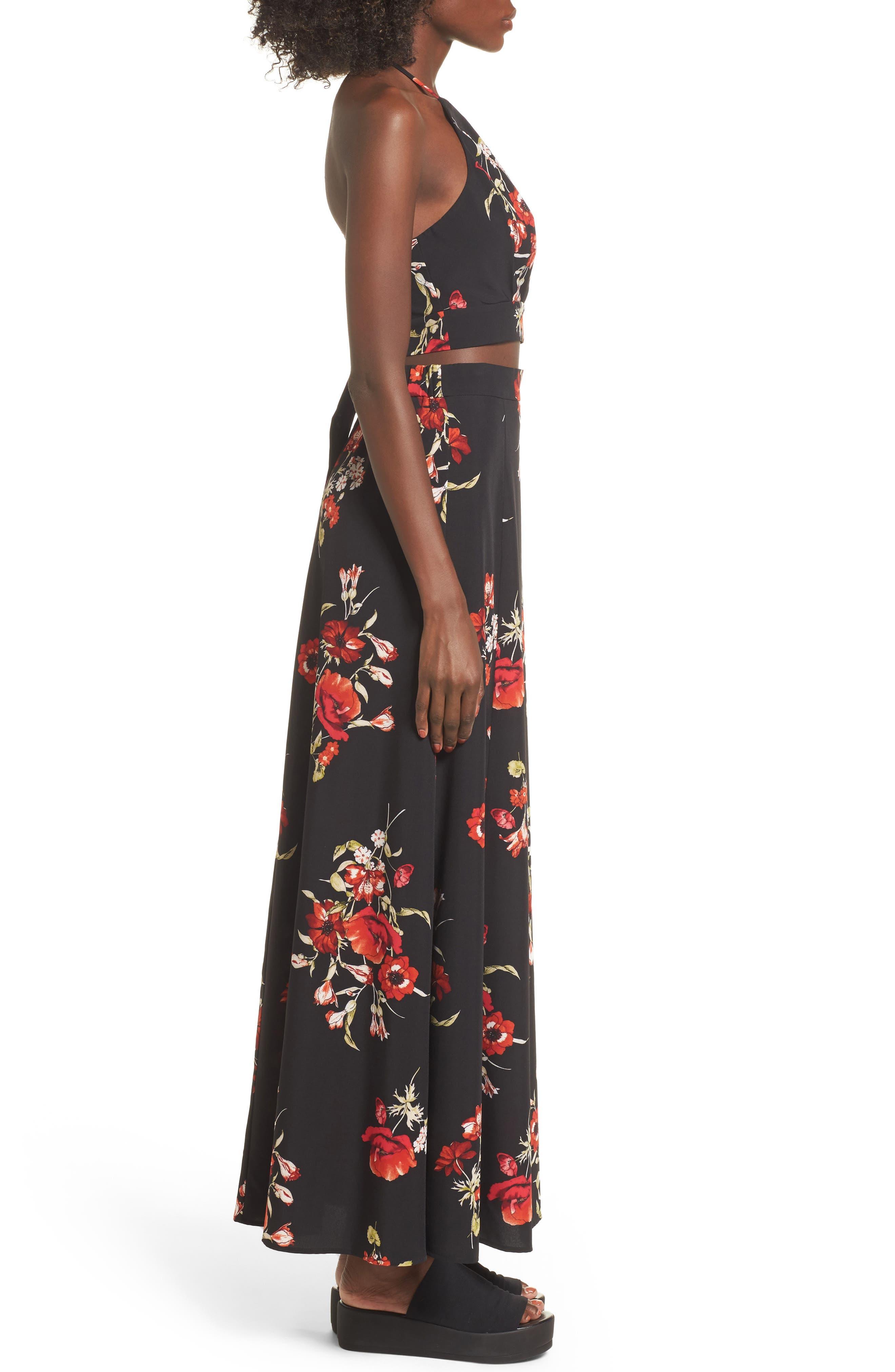 Maxi Skirt,                             Alternate thumbnail 9, color,                             002