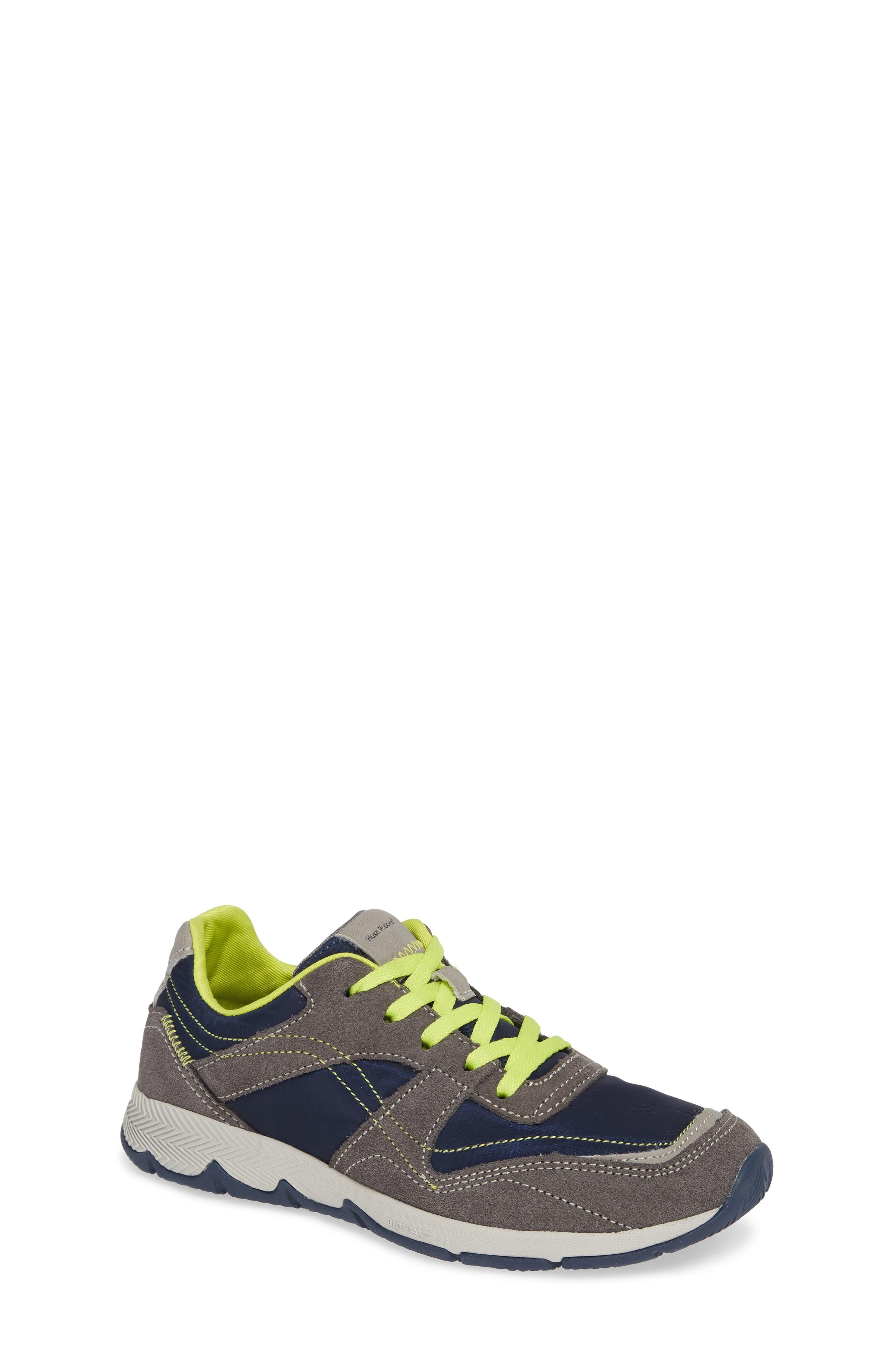 Zev TS Field Sneaker,                         Main,                         color, GREY/ NAVY